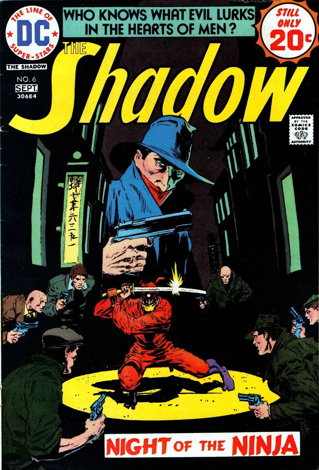 The Shadow (1973) issue 6 - Page 1