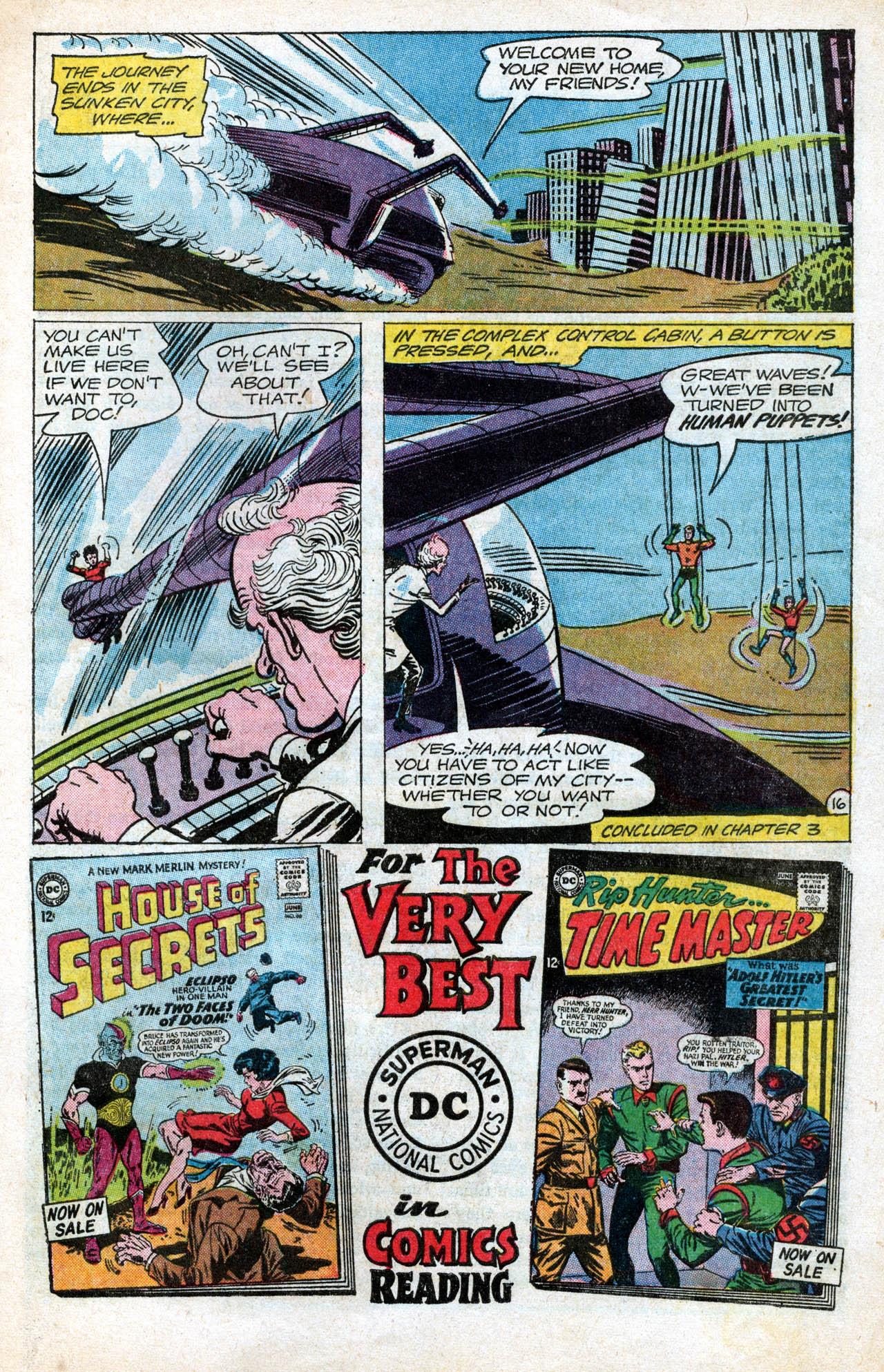 Read online Aquaman (1962) comic -  Issue #15 - 21