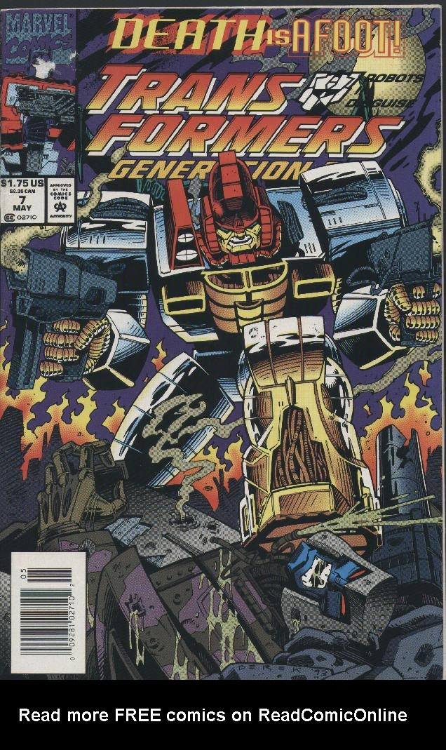 Read online Transformers: Generation 2 comic -  Issue #7 - 1