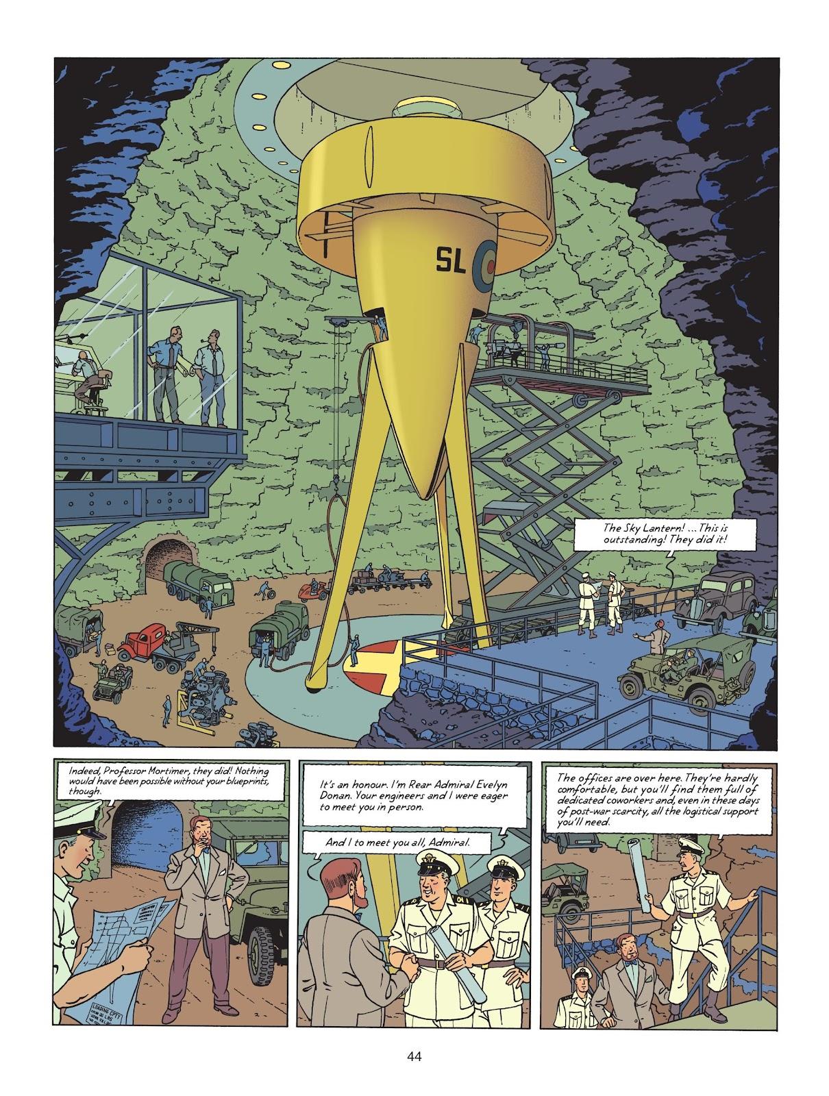 Read online Blake & Mortimer comic -  Issue #25 - 46
