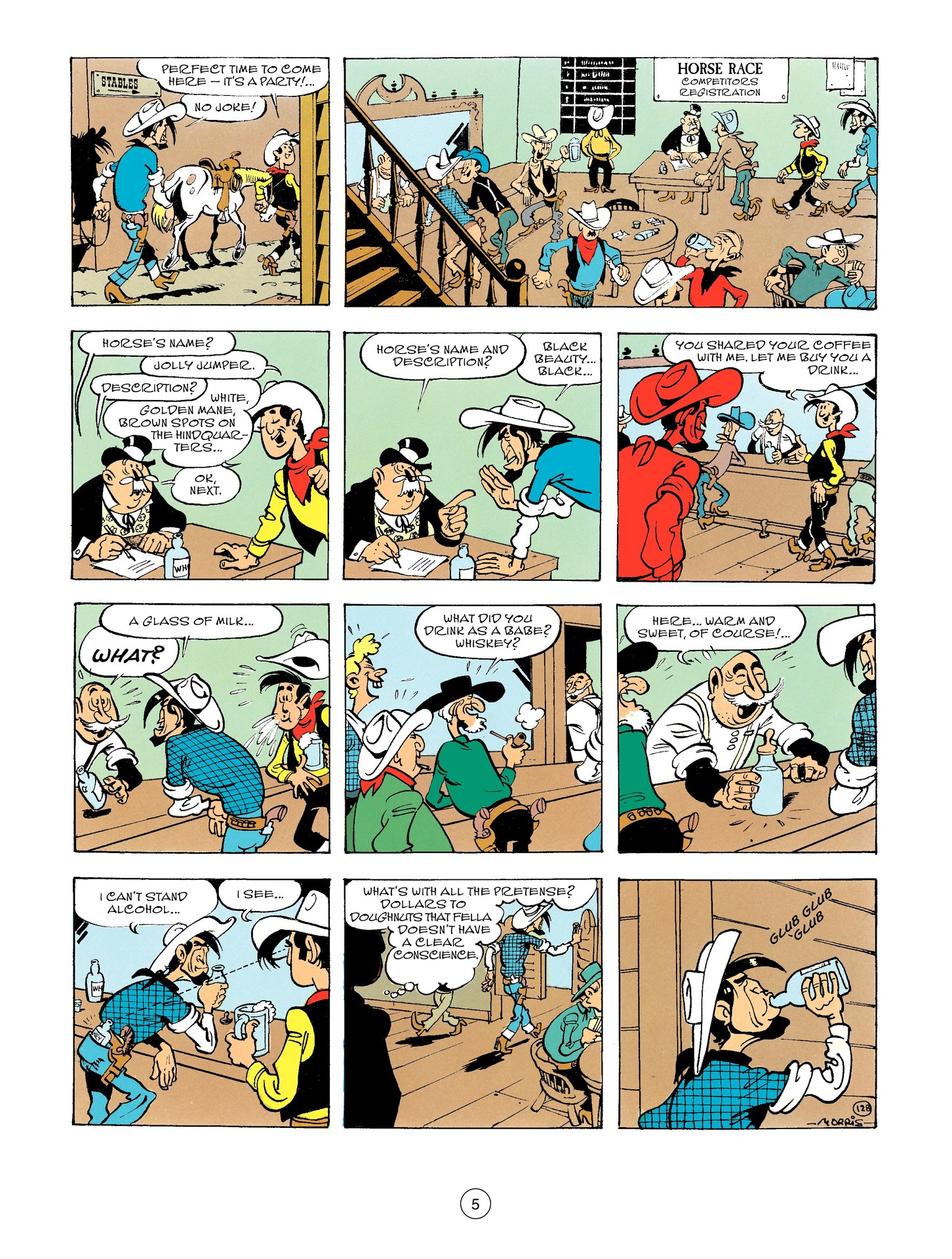 Read online A Lucky Luke Adventure comic -  Issue #56 - 5