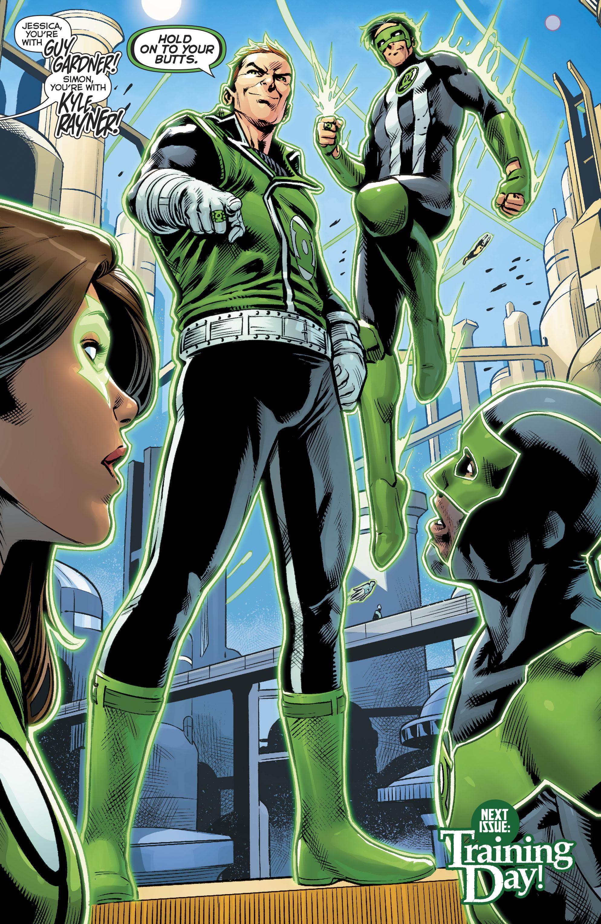 Read online Green Lanterns comic -  Issue #22 - 22