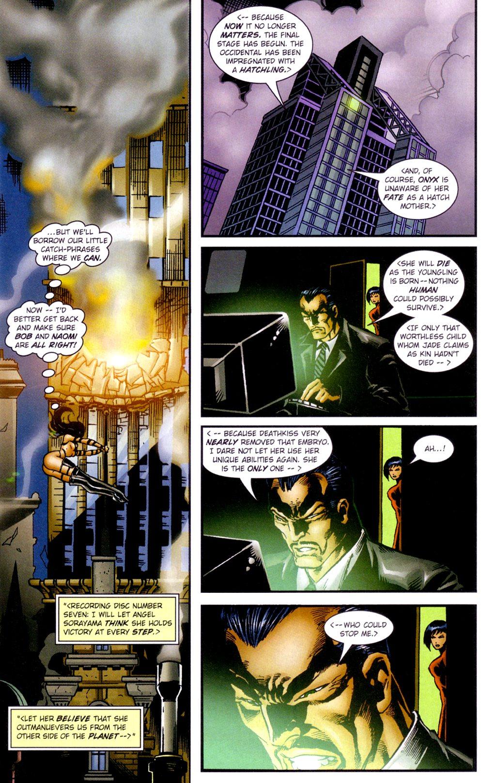 Read online Jade Warriors comic -  Issue #3 - 8