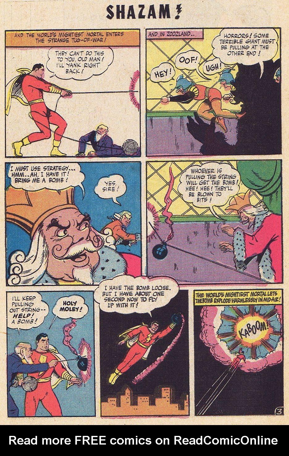 Read online Shazam! (1973) comic -  Issue #1 - 21