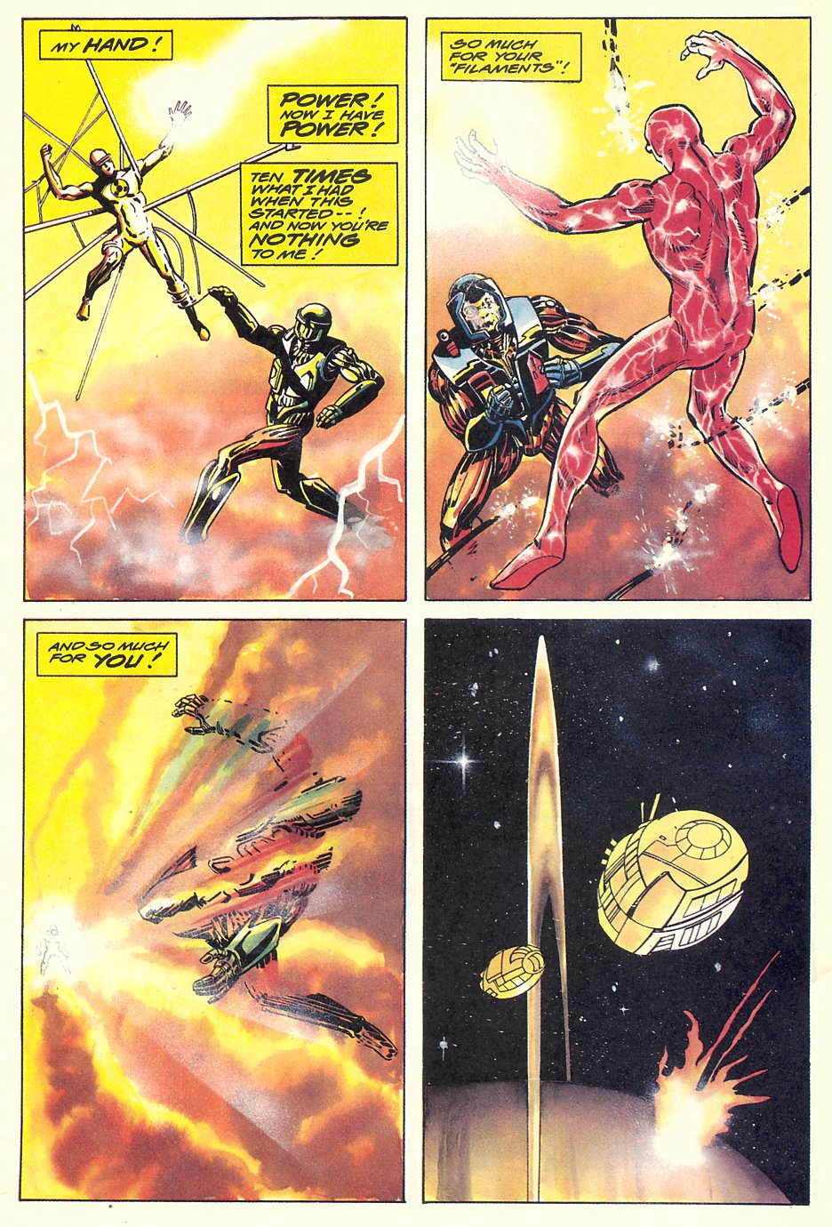 Read online Solar, Man of the Atom comic -  Issue #7 - 33