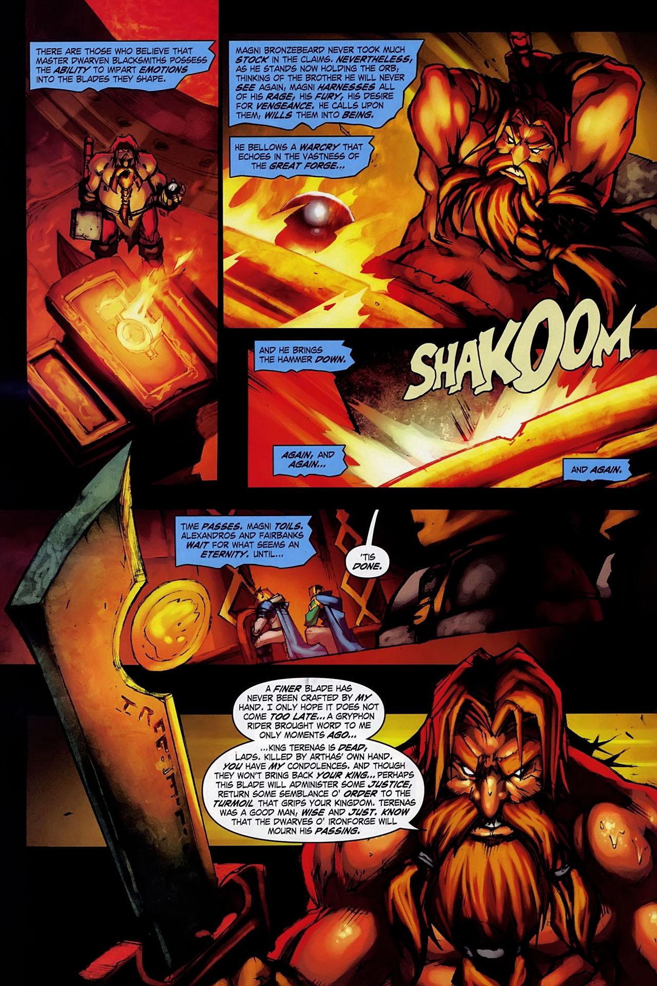 Read online World of Warcraft: Ashbringer comic -  Issue #1 - 14