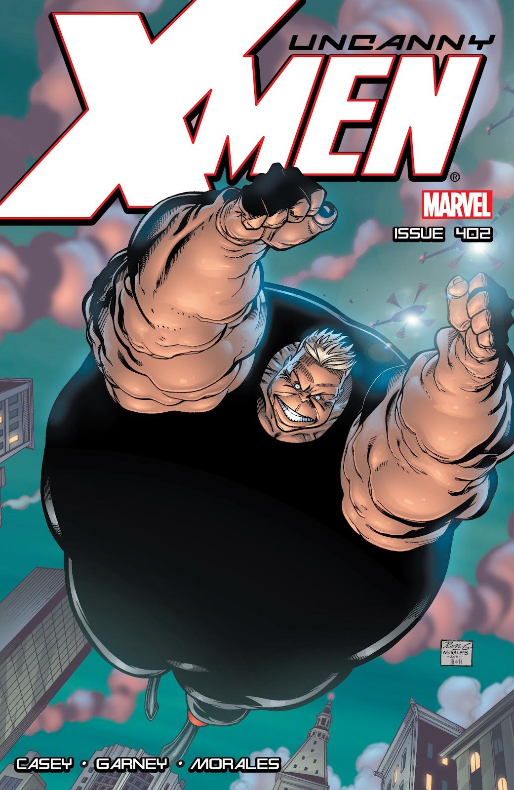 Uncanny X-Men (1963) issue 402 - Page 1
