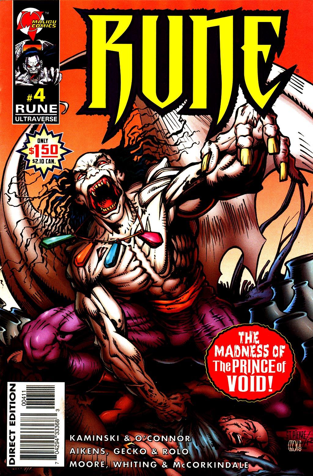Read online Rune (1995) comic -  Issue #4 - 1