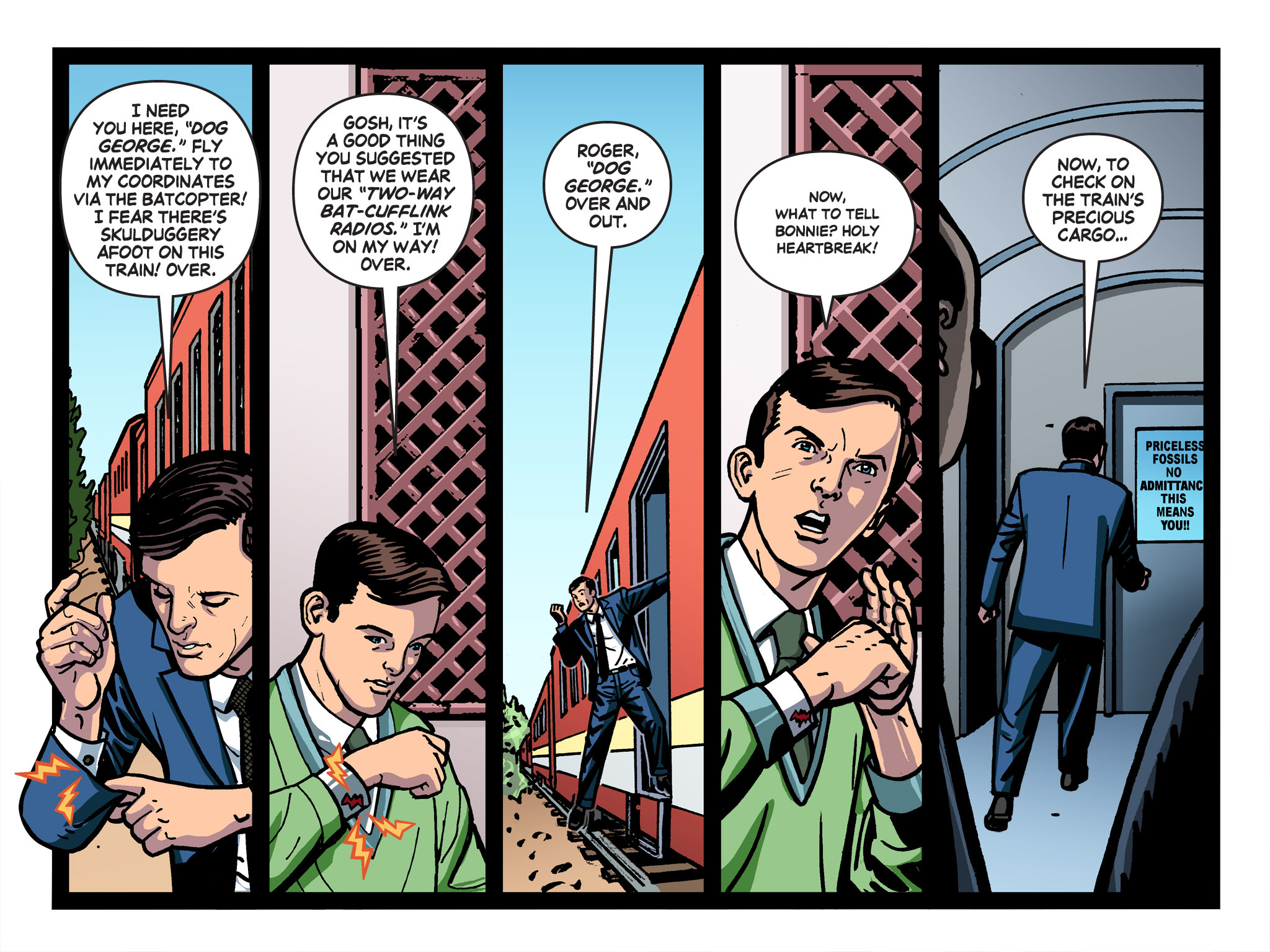 Read online Batman '66 Meets the Green Hornet [II] comic -  Issue #1 - 93