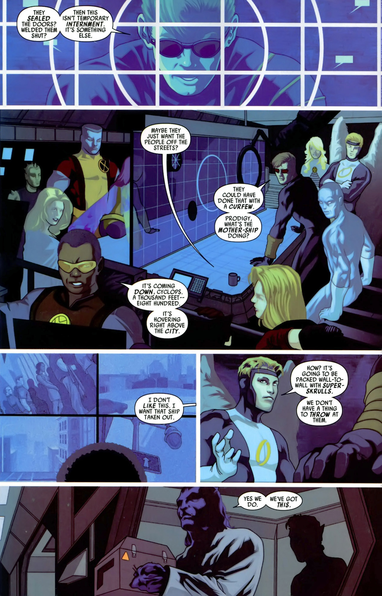 Read online Secret Invasion: X-Men comic -  Issue #3 - 23