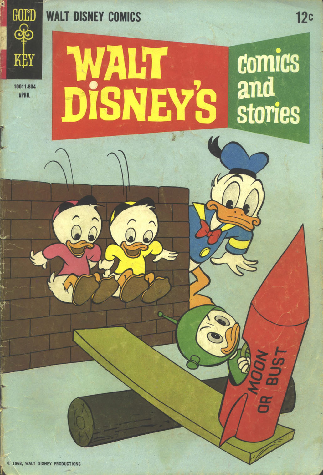 Walt Disney's Comics and Stories issue 331 - Page 1