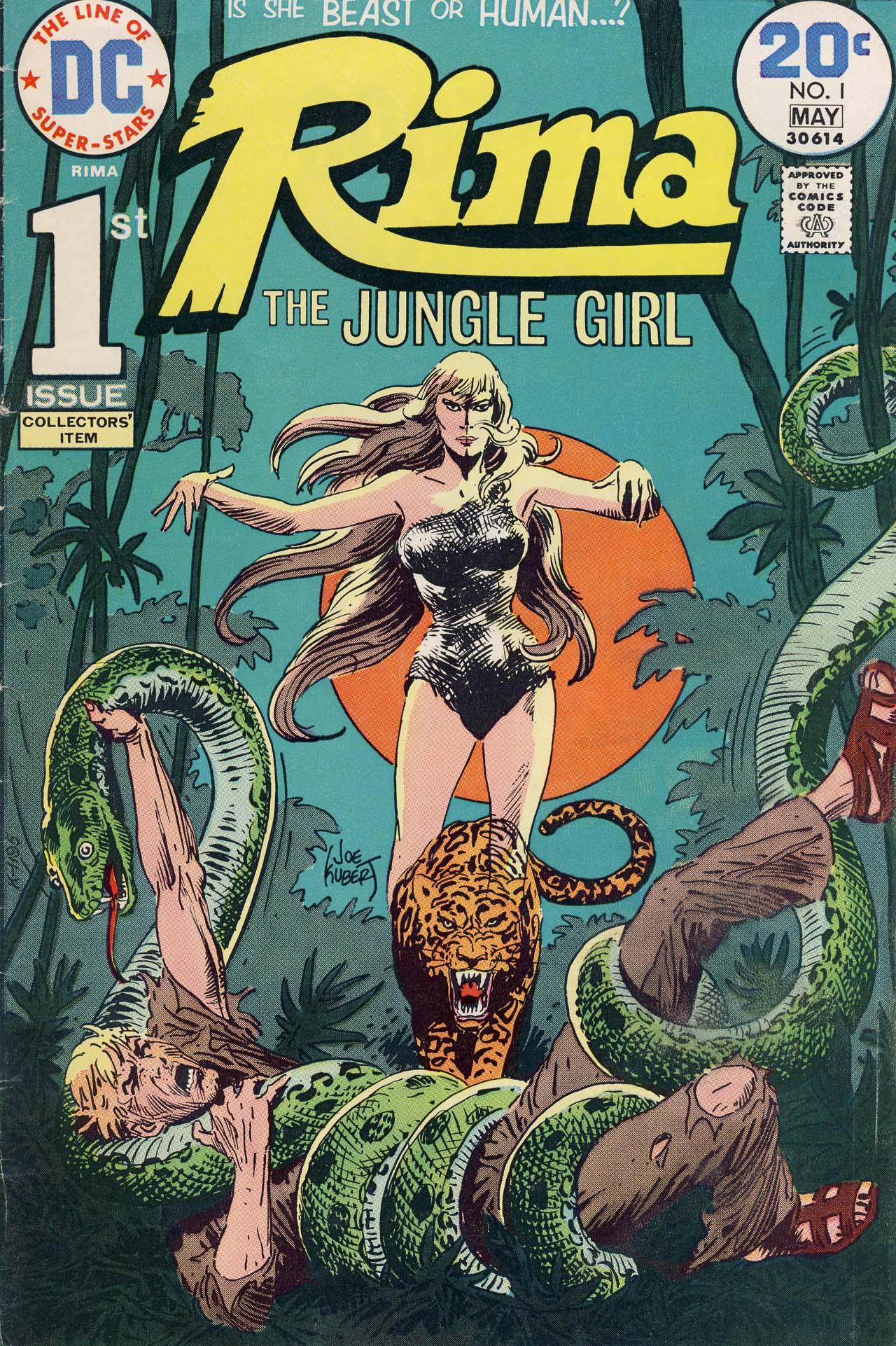 Rima, The Jungle Girl 1 Page 1