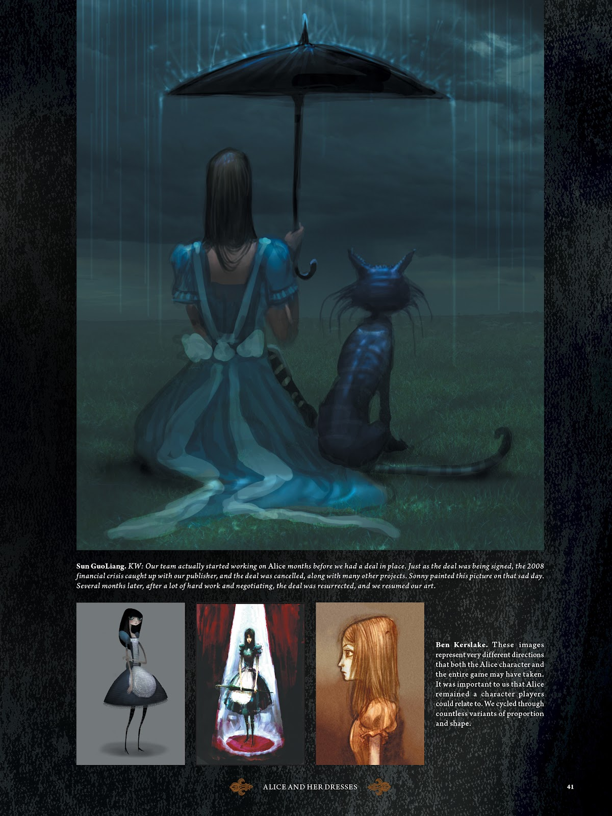 Read online The Art of Alice: Madness Returns comic -  Issue # TPB (Part 1) - 38