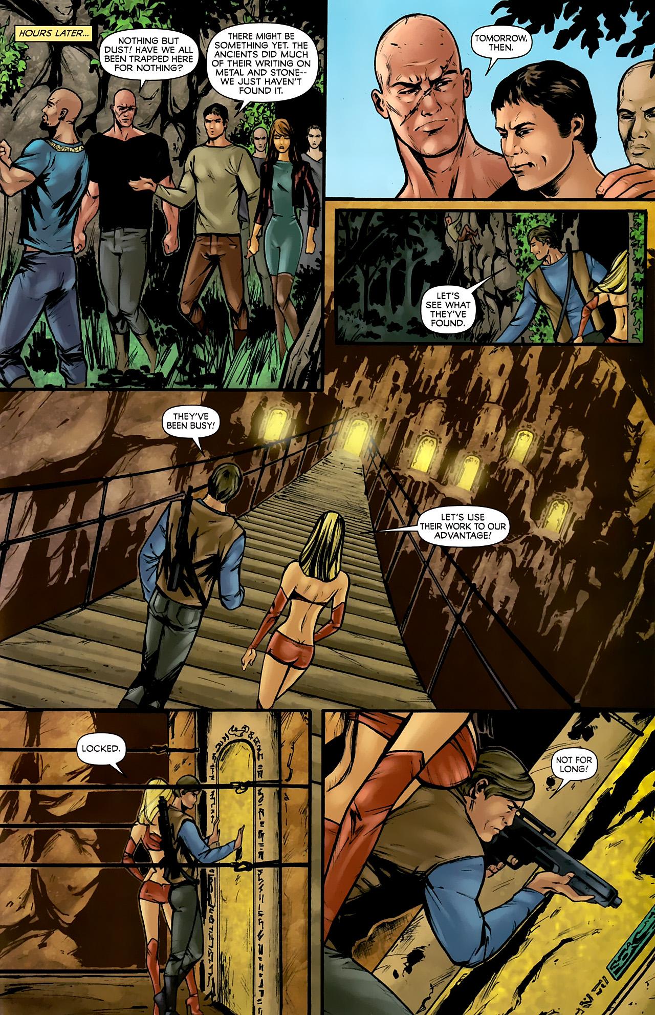 Read online Stargate: Daniel Jackson comic -  Issue #3 - 23