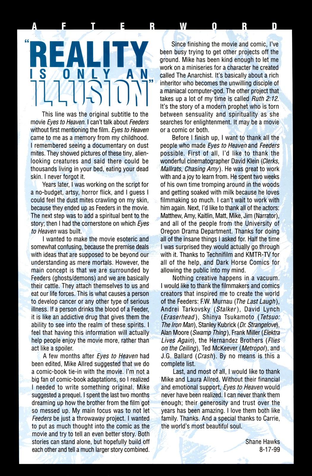 Read online Feeders comic -  Issue # Full - 31