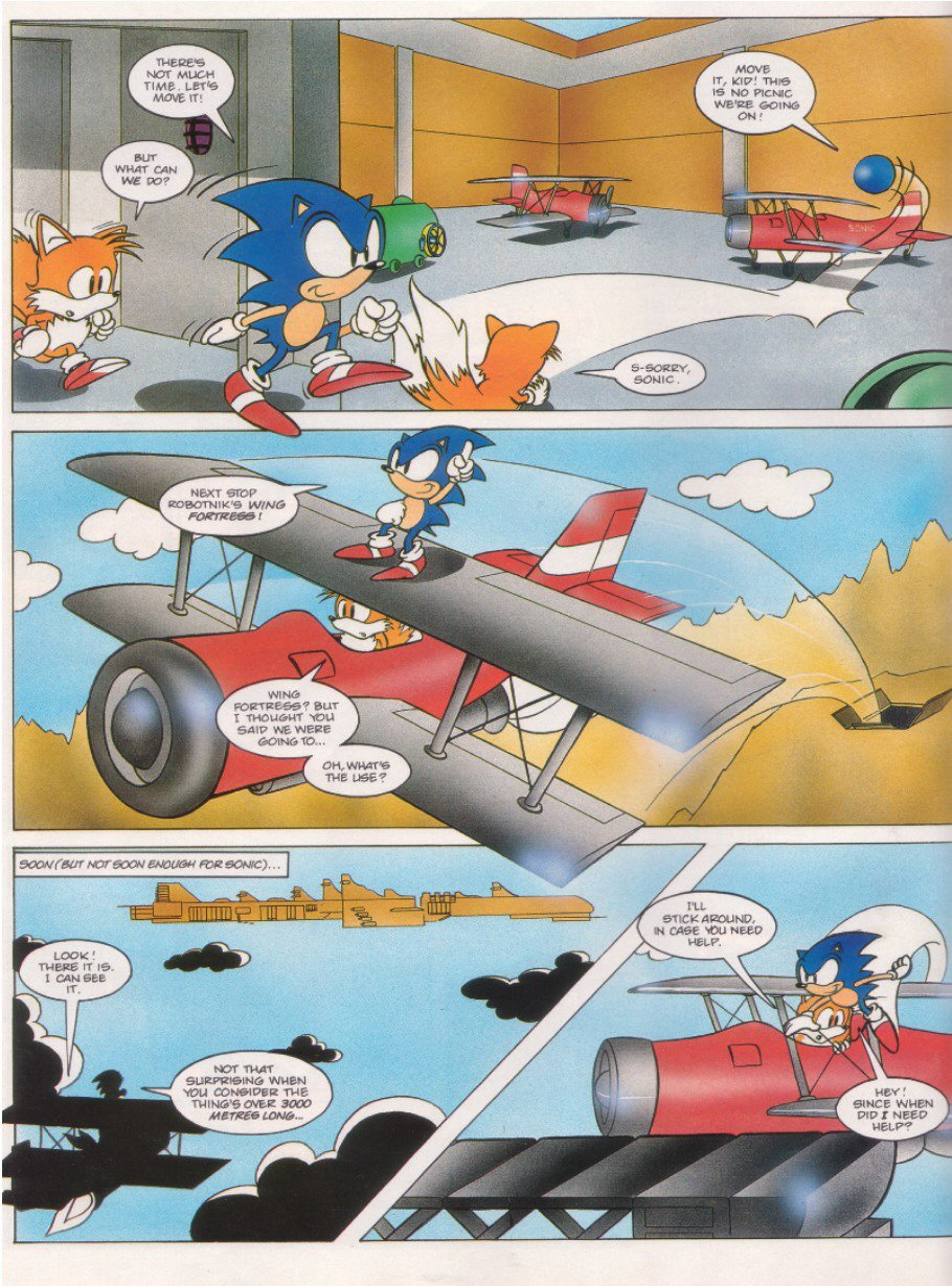 Read online Sonic the Comic comic -  Issue #6 - 4