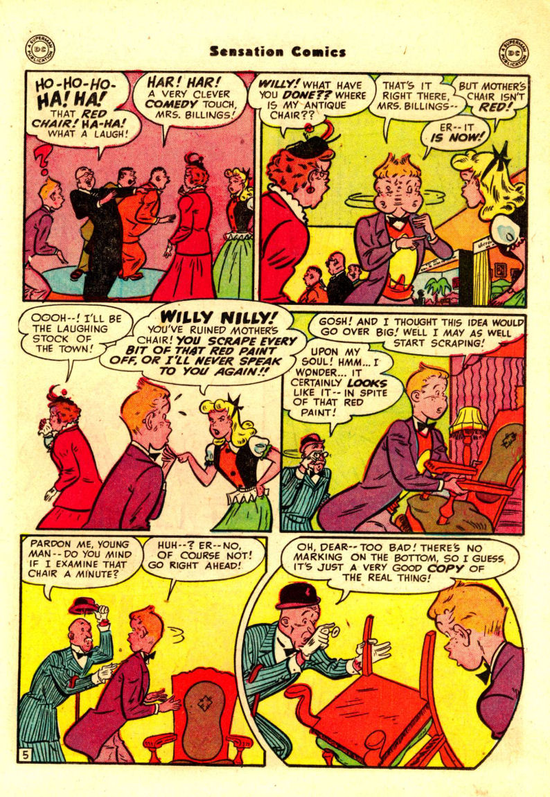 Read online Sensation (Mystery) Comics comic -  Issue #88 - 28