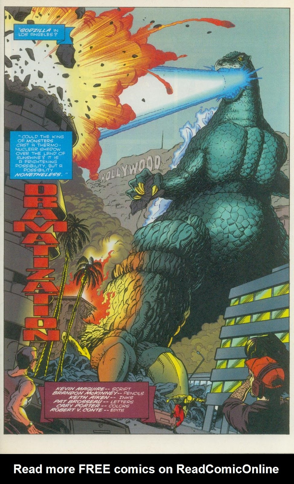 Godzilla (1995) Issue #1 #2 - English 4