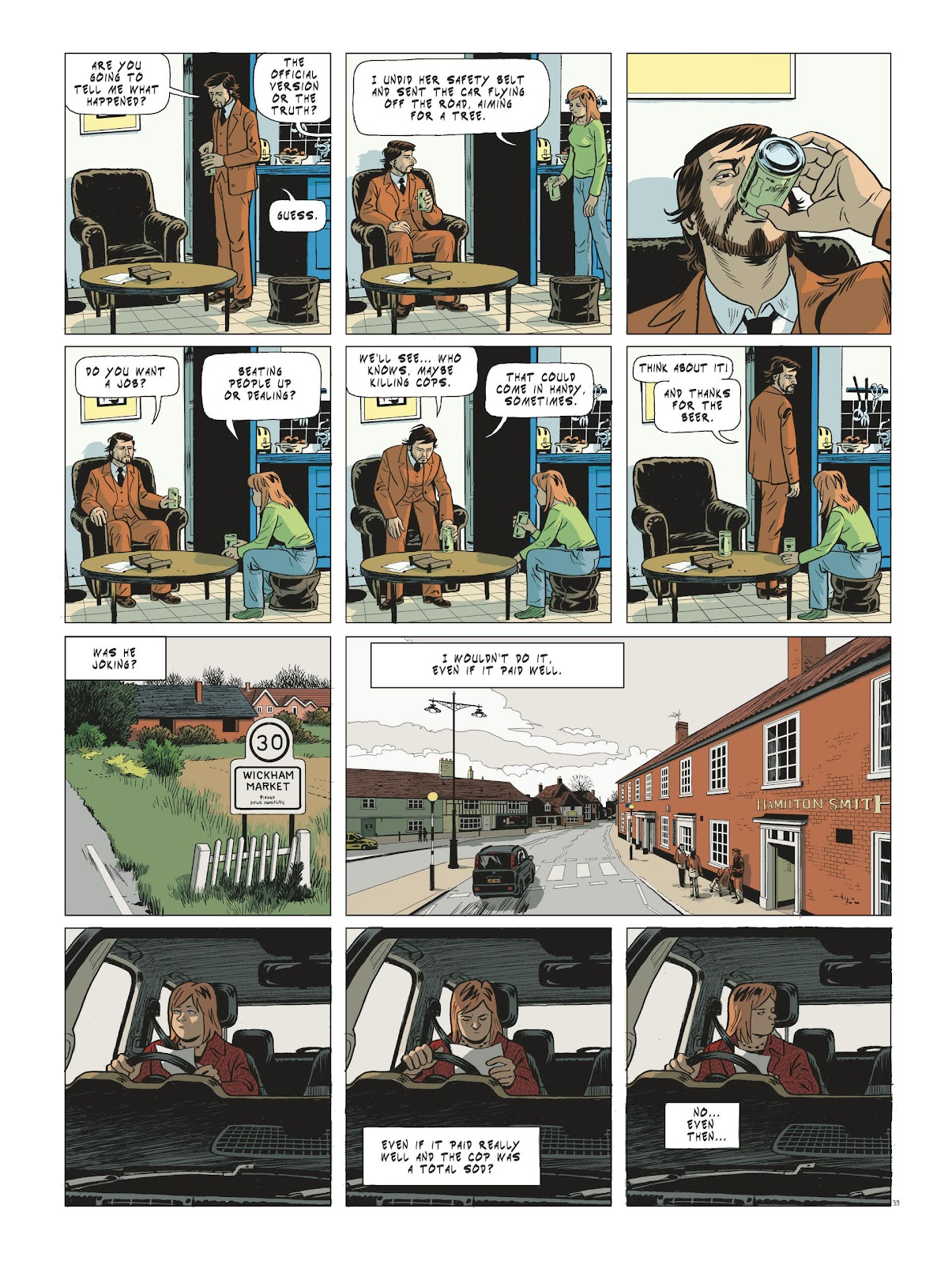 Read online Maggy Garrisson comic -  Issue #3 - 41