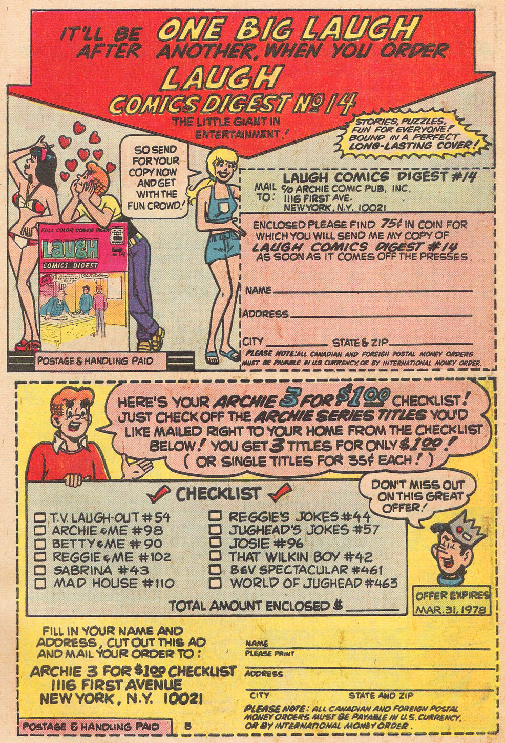 Read online Archie's Girls Betty and Veronica comic -  Issue #264 - 27