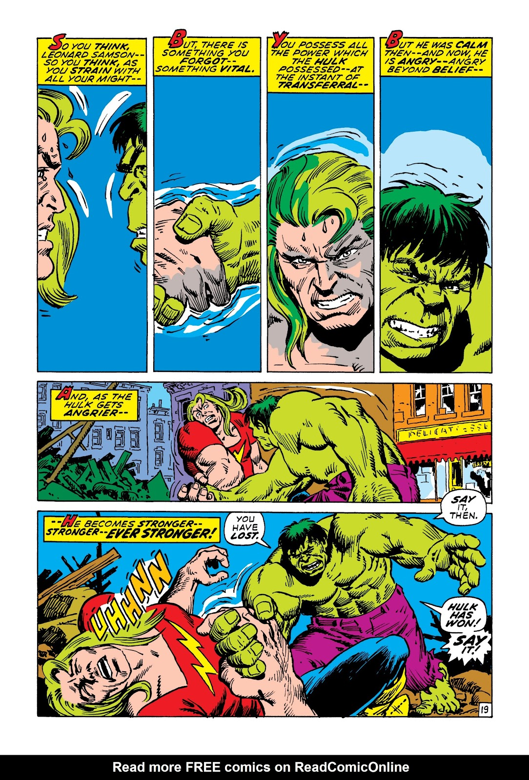 Read online Marvel Masterworks: The Incredible Hulk comic -  Issue # TPB 7 (Part 2) - 65