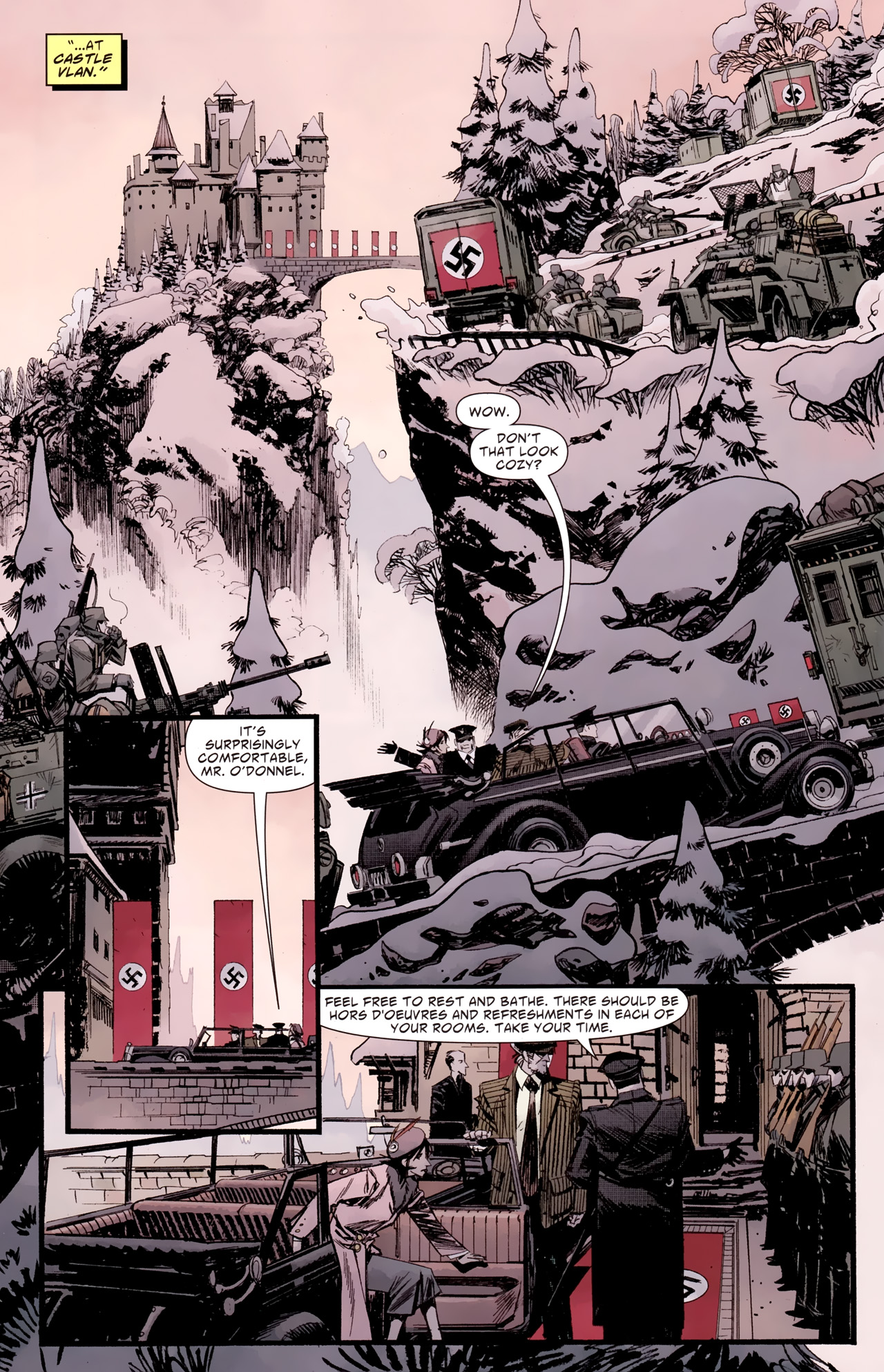 Read online American Vampire: Survival of the Fittest comic -  Issue #2 - 13