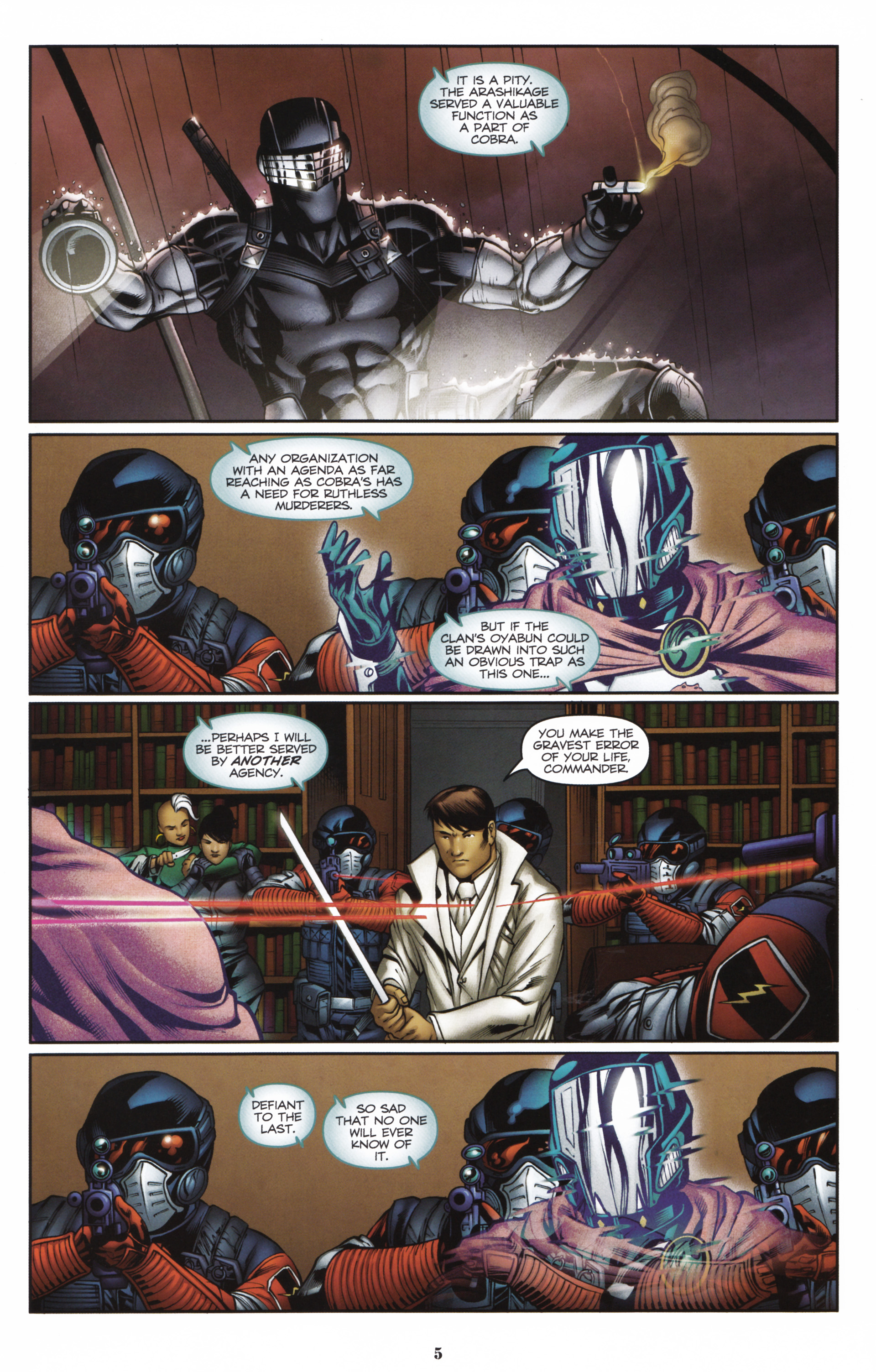 Read online Snake Eyes and Storm Shadow comic -  Issue #16 - 7
