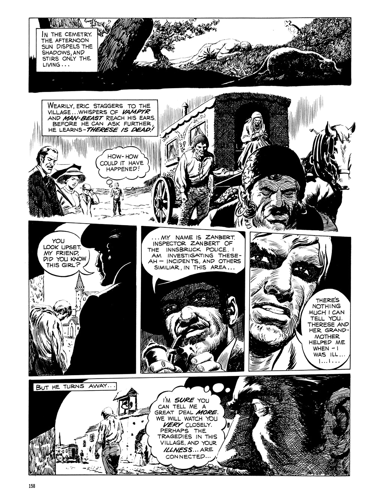 Read online Eerie Archives comic -  Issue # TPB 6 - 158