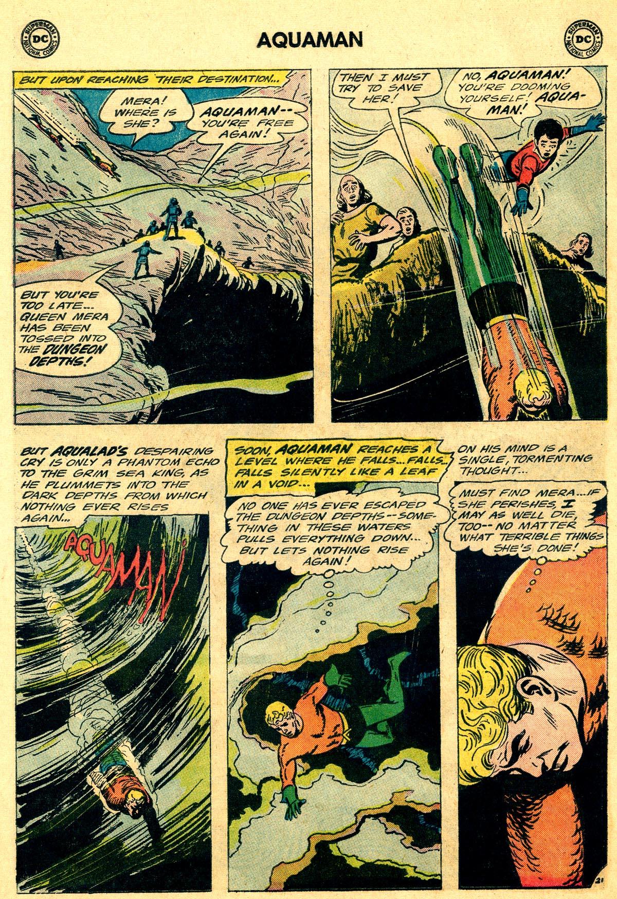 Read online Aquaman (1962) comic -  Issue #19 - 28