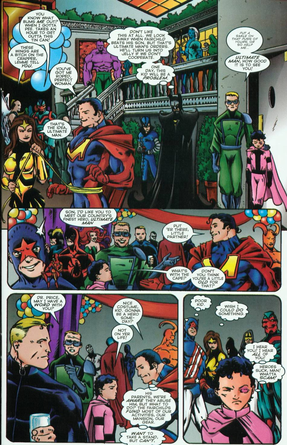 Read online Evil Ernie vs. the Superheroes comic -  Issue #1 - 7