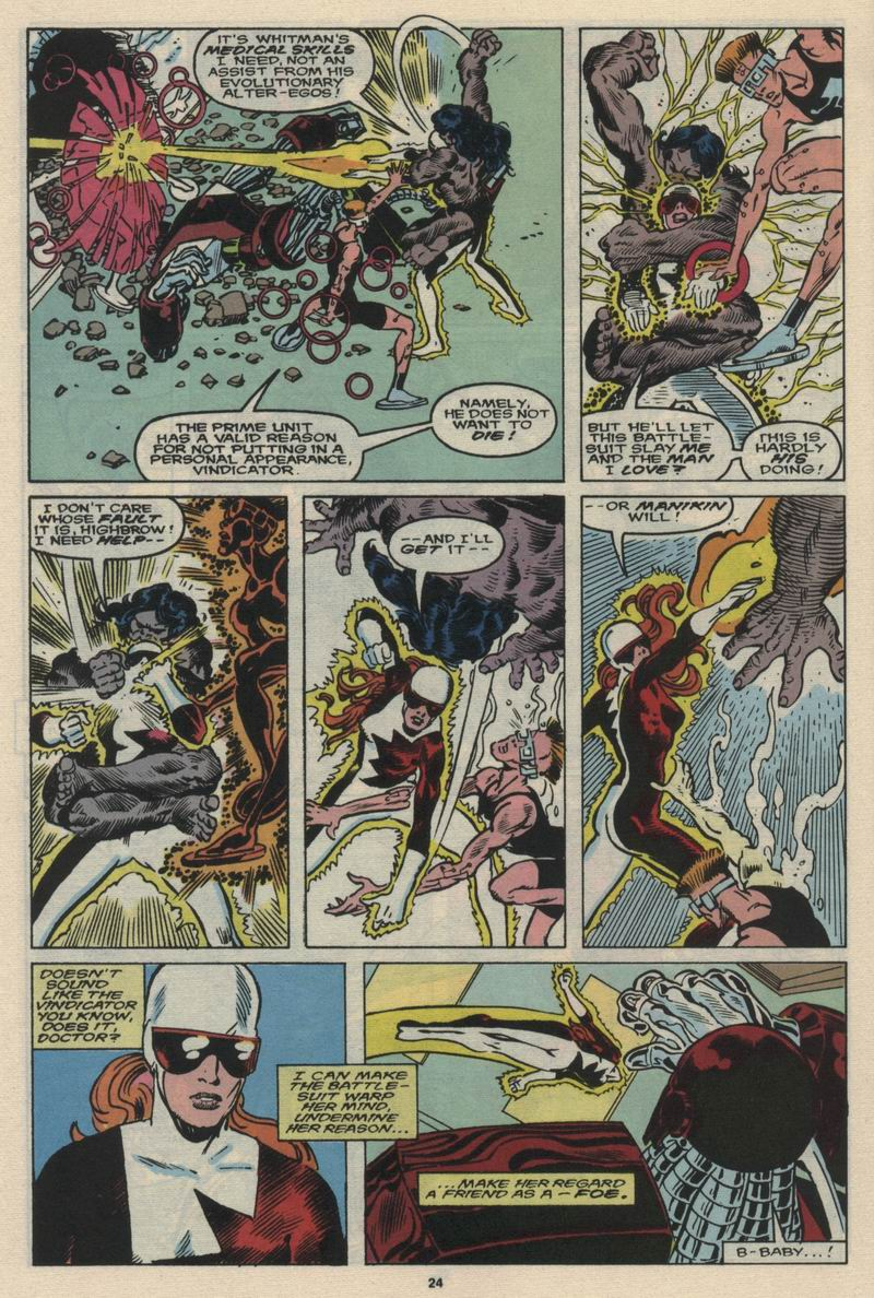 Read online Alpha Flight (1983) comic -  Issue #66 - 25