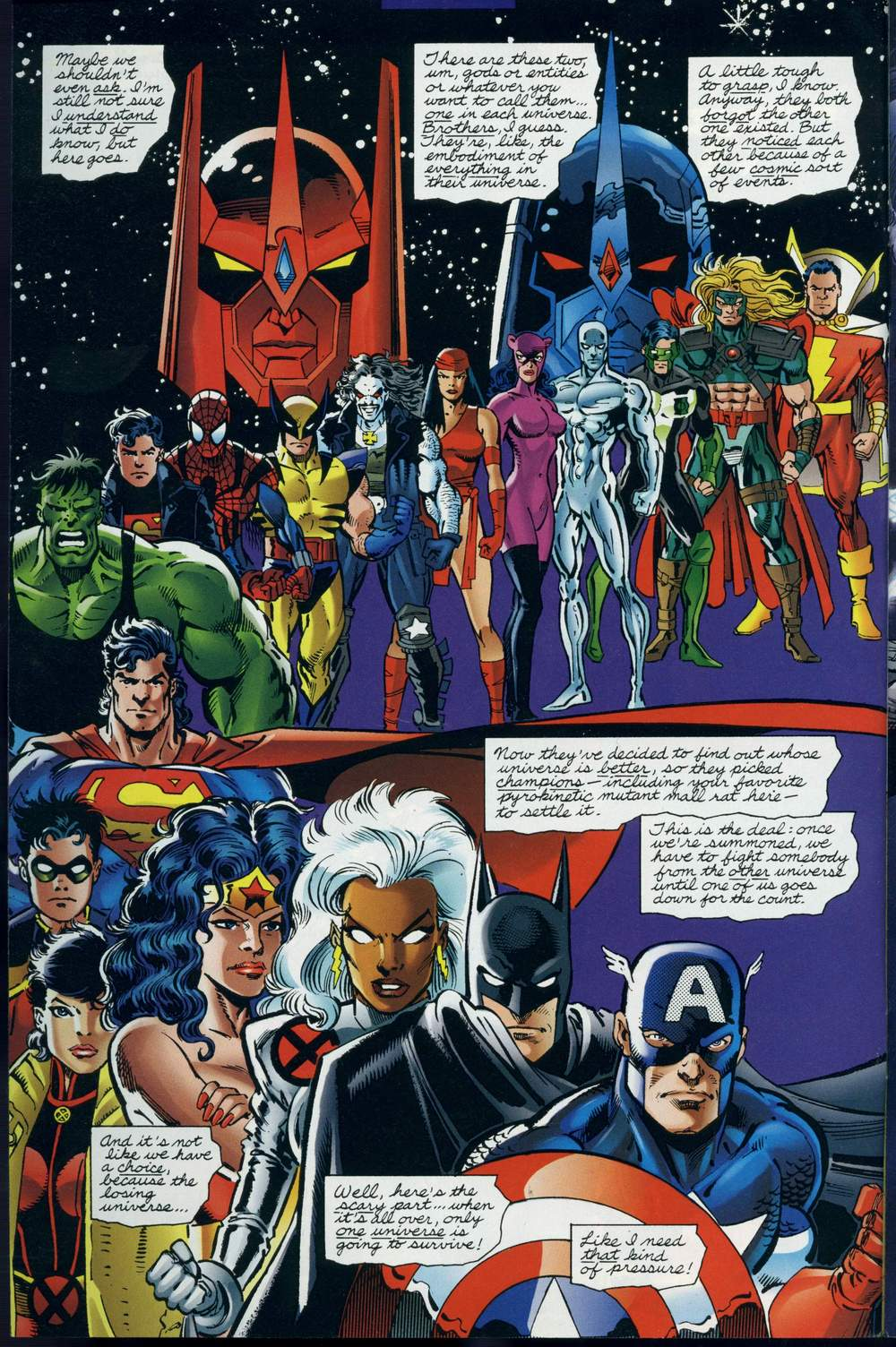 Read online DC Versus Marvel Comics comic -  Issue #3 - 5