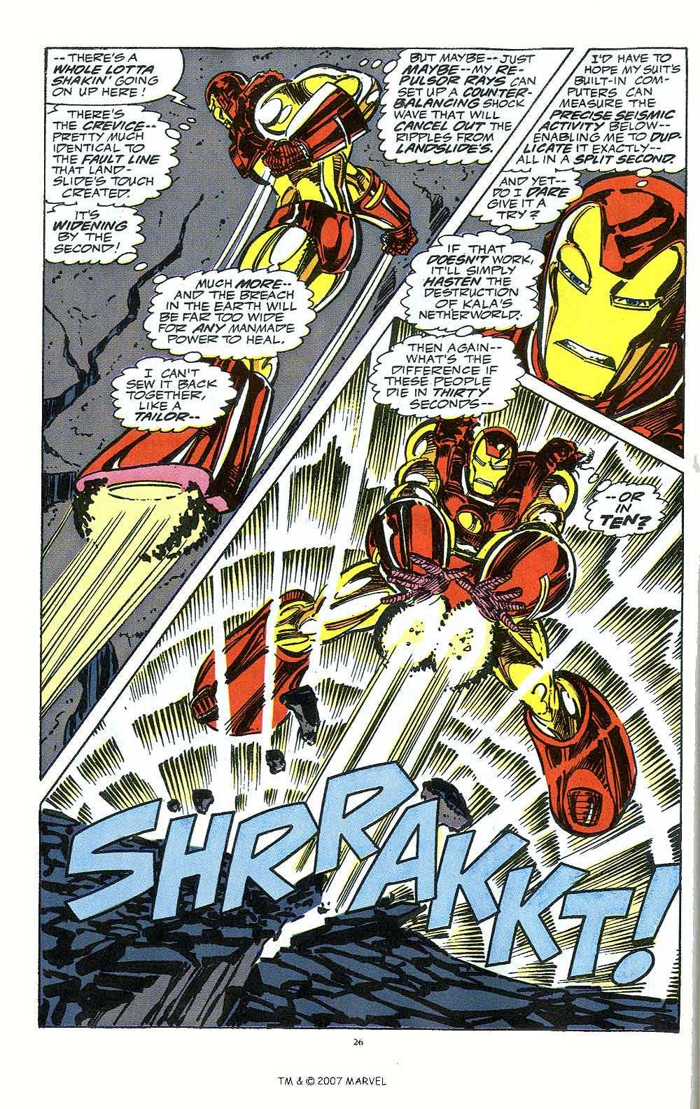 Iron Man Annual issue 12 - Page 28