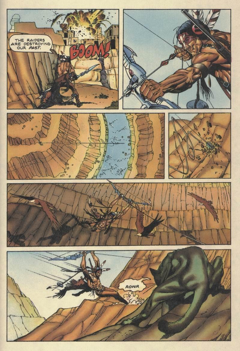 Read online Turok, Dinosaur Hunter (1993) comic -  Issue #10 - 13