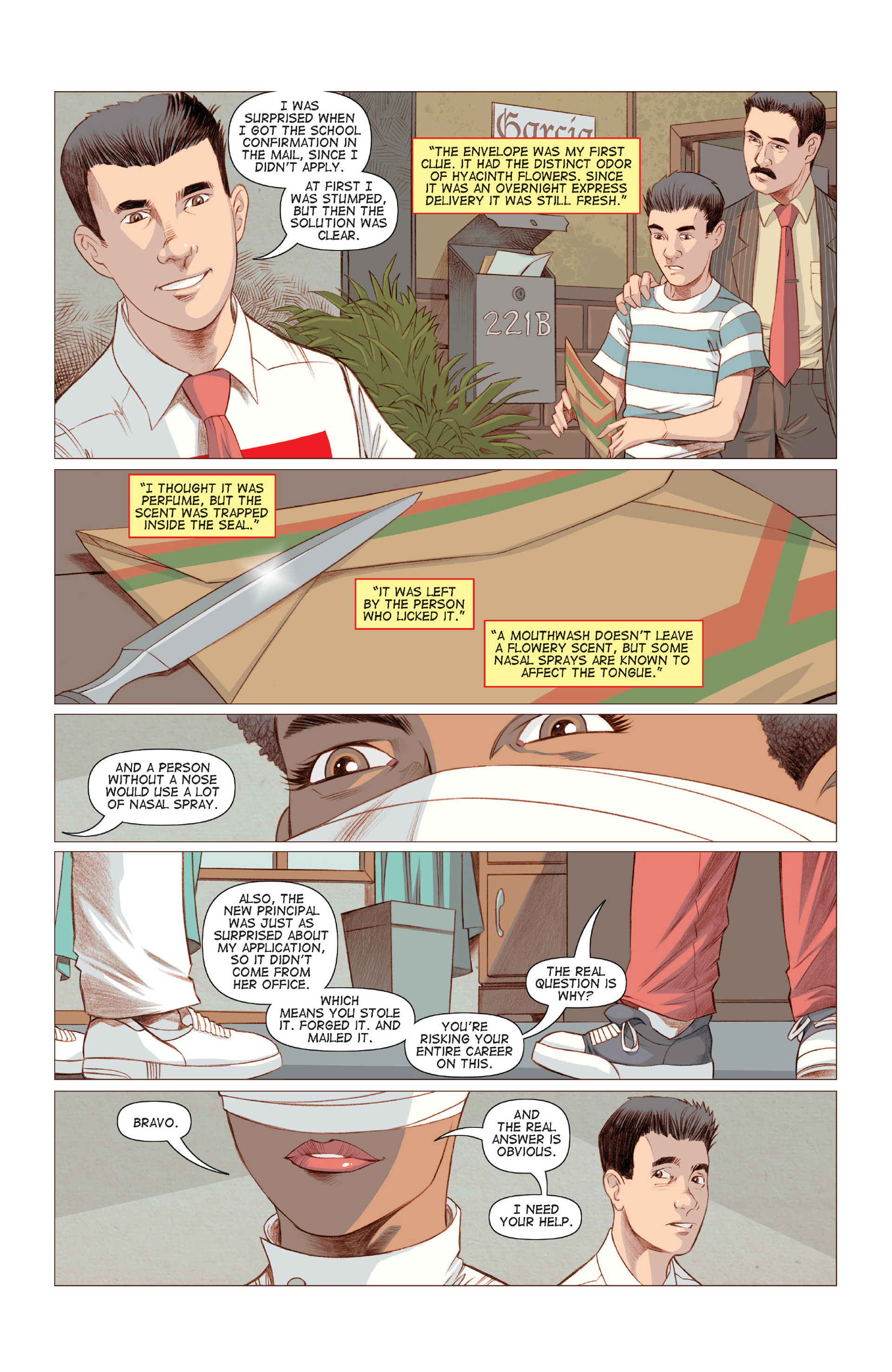 Read online Five Weapons comic -  Issue #6 - 13