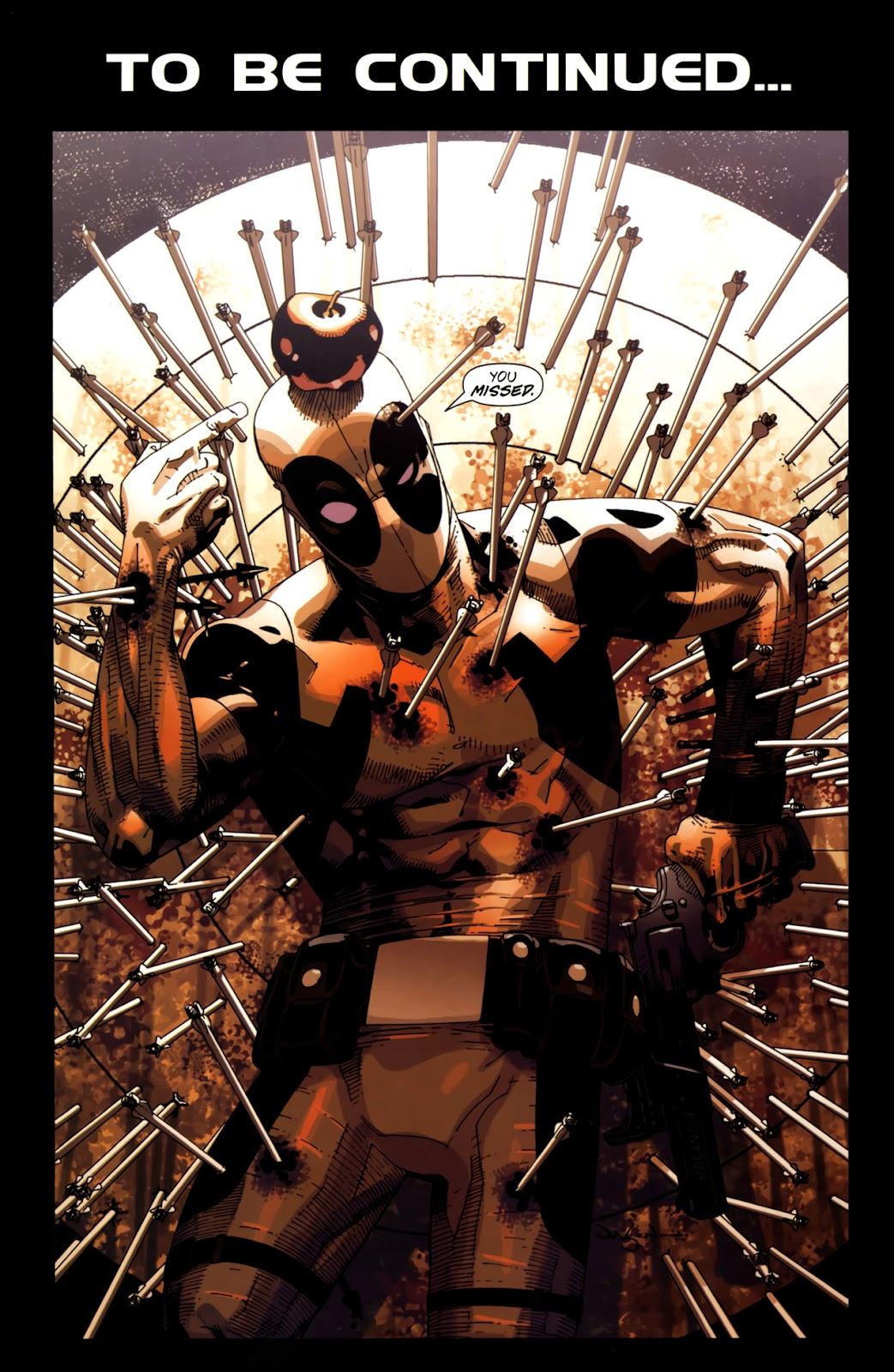 Read online Deadpool (2008) comic -  Issue #10 - 25