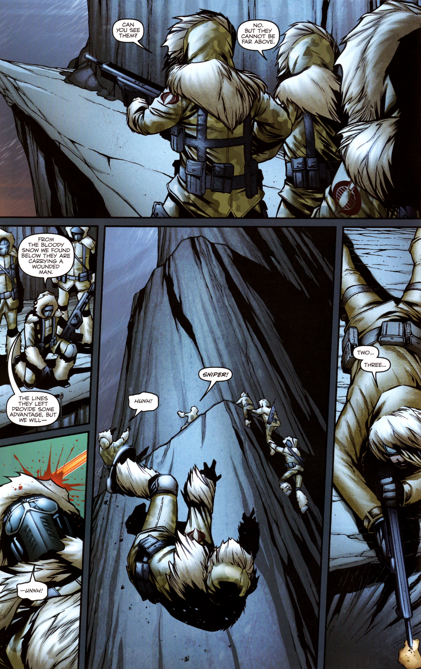 Read online G.I. Joe: Snake Eyes comic -  Issue #3 - 11