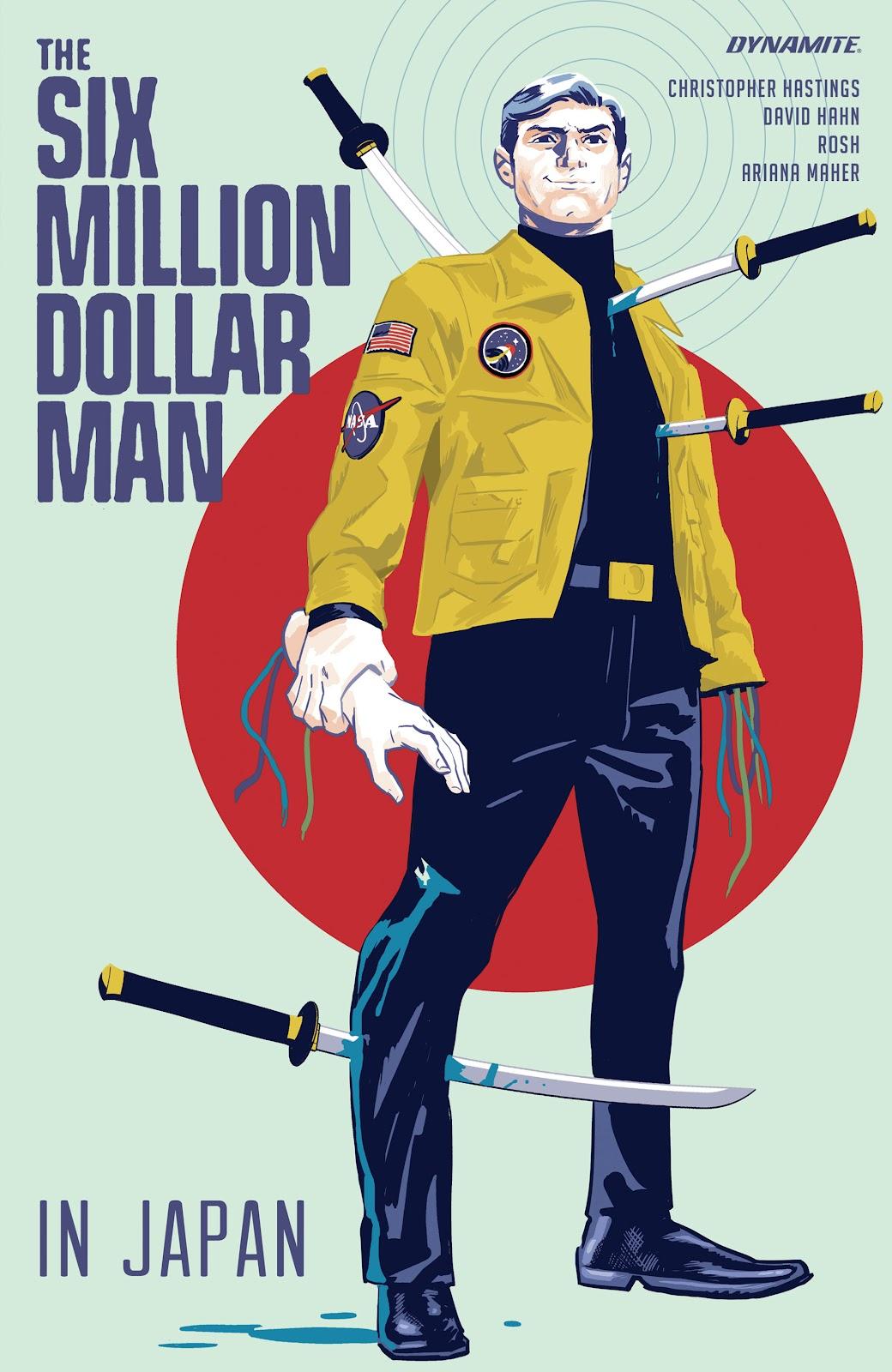 The Six Million Dollar Man TPB Page 1