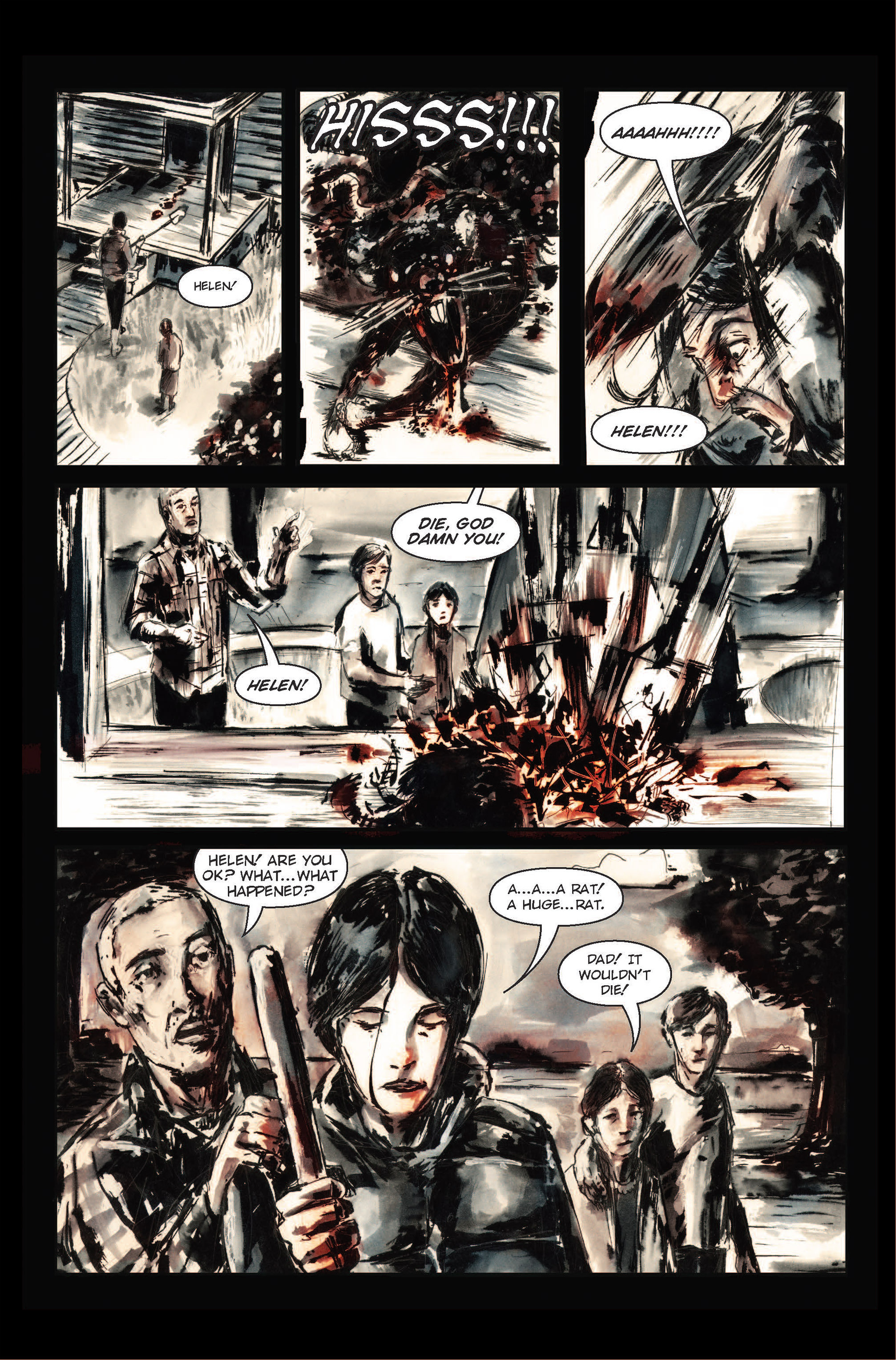 Read online The Final Plague comic -  Issue #1 - 7
