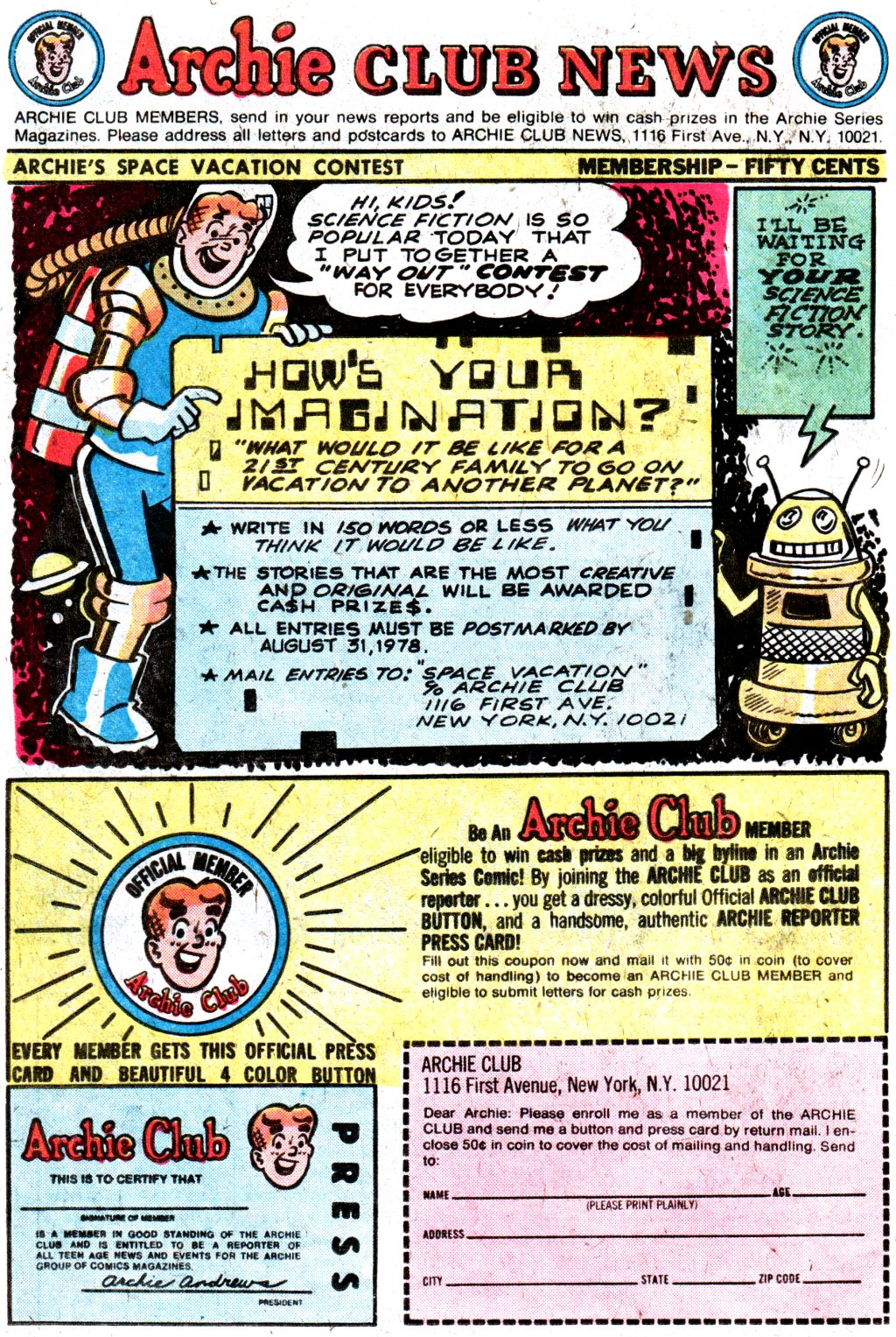 Read online Archie (1960) comic -  Issue #274 - 26