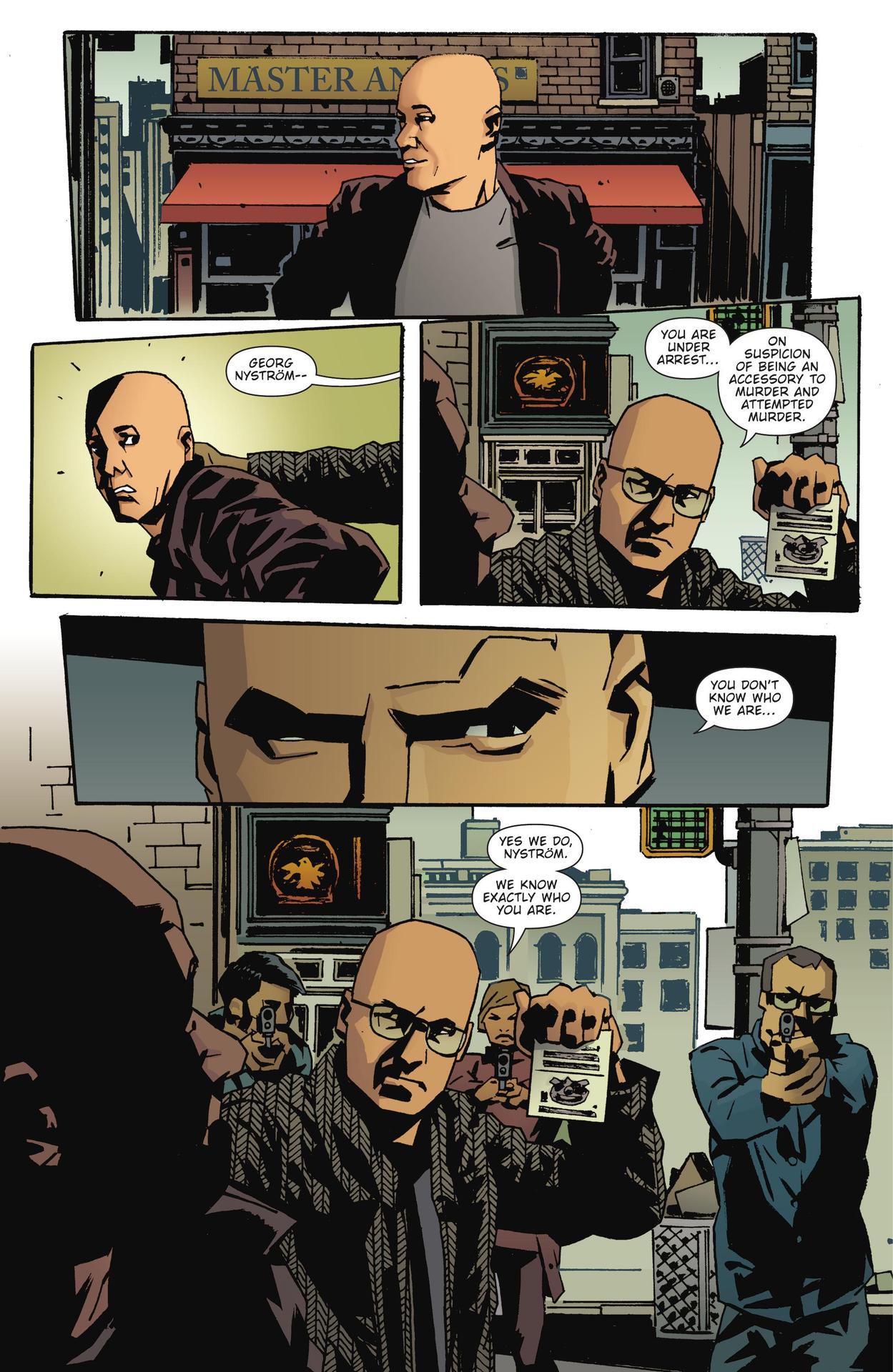 Read online The Girl Who Kicked The Hornet's Nest comic -  Issue # TPB - 235