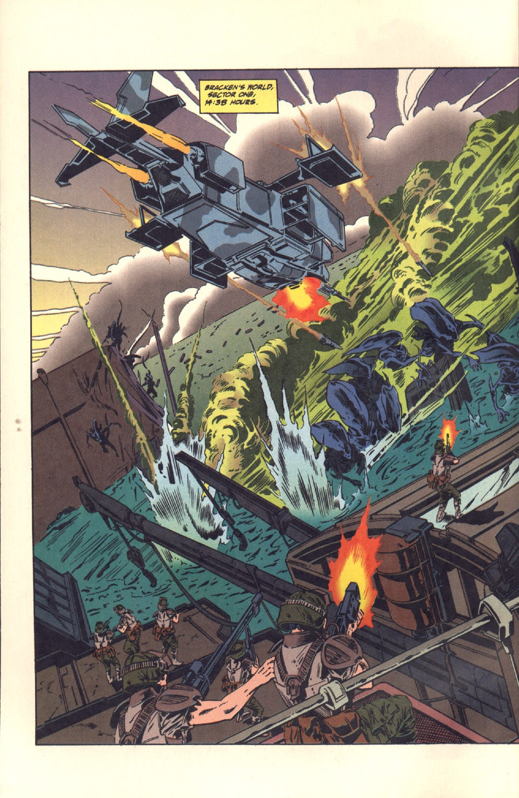 Read online Aliens: Colonial Marines comic -  Issue #6 - 5