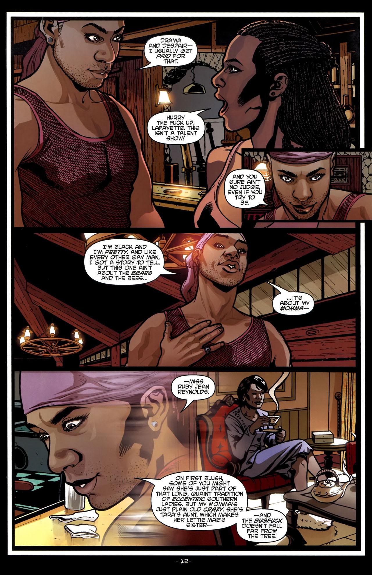 Read online True Blood (2010) comic -  Issue #5 - 15