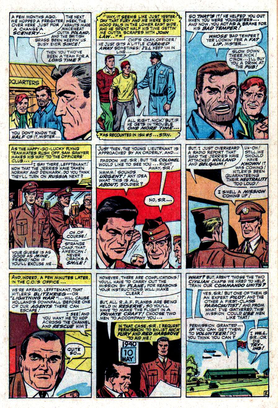 Read online Sgt. Fury comic -  Issue #34 - 9