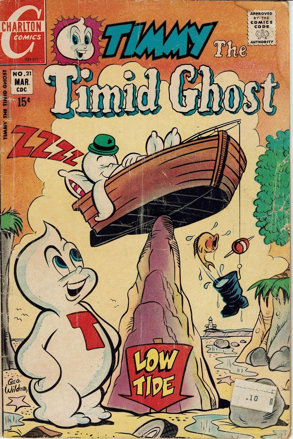 Read online Timmy the Timid Ghost comic -  Issue #21 - 1
