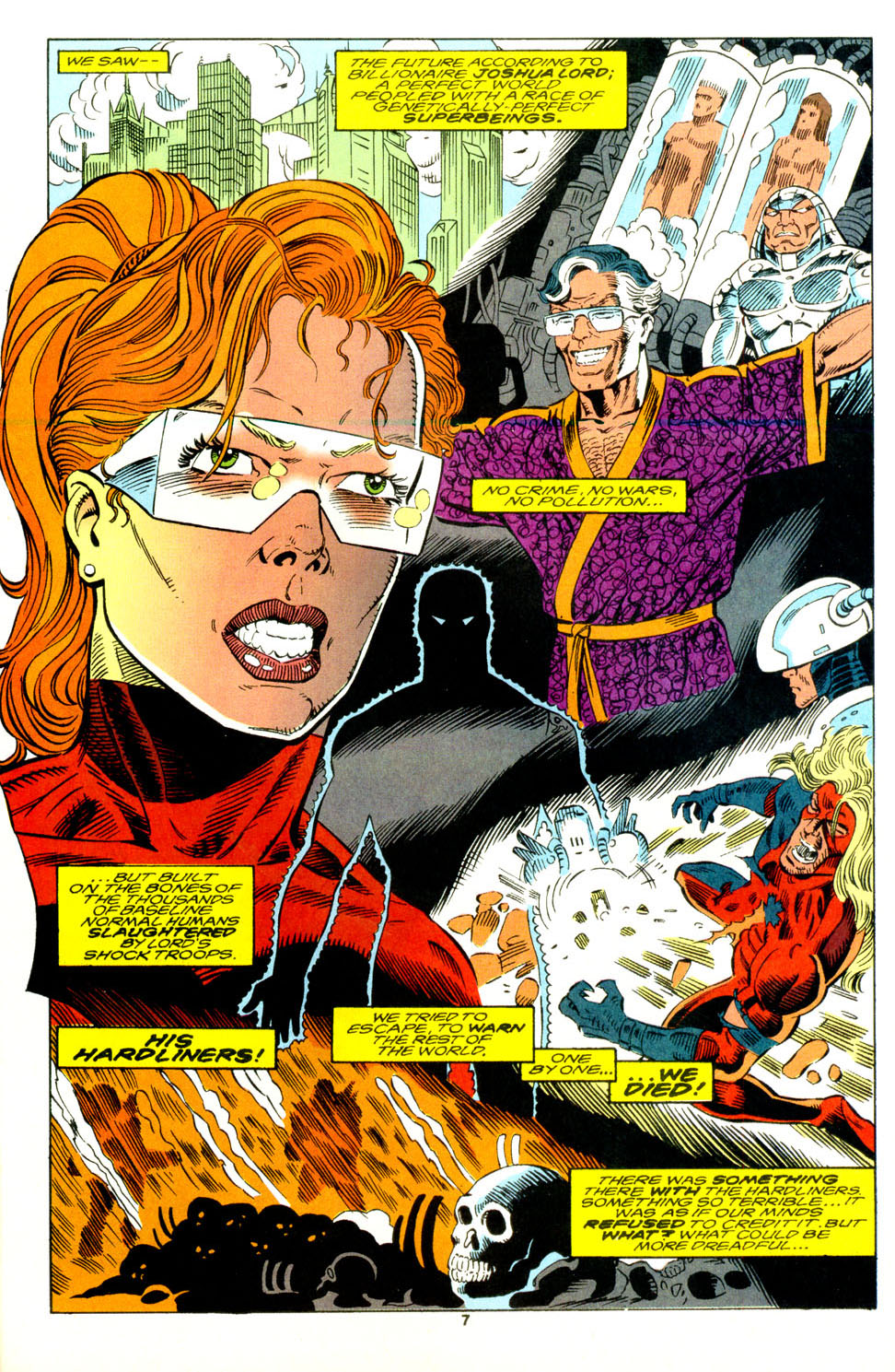 Read online Alpha Flight (1983) comic -  Issue #129 - 7