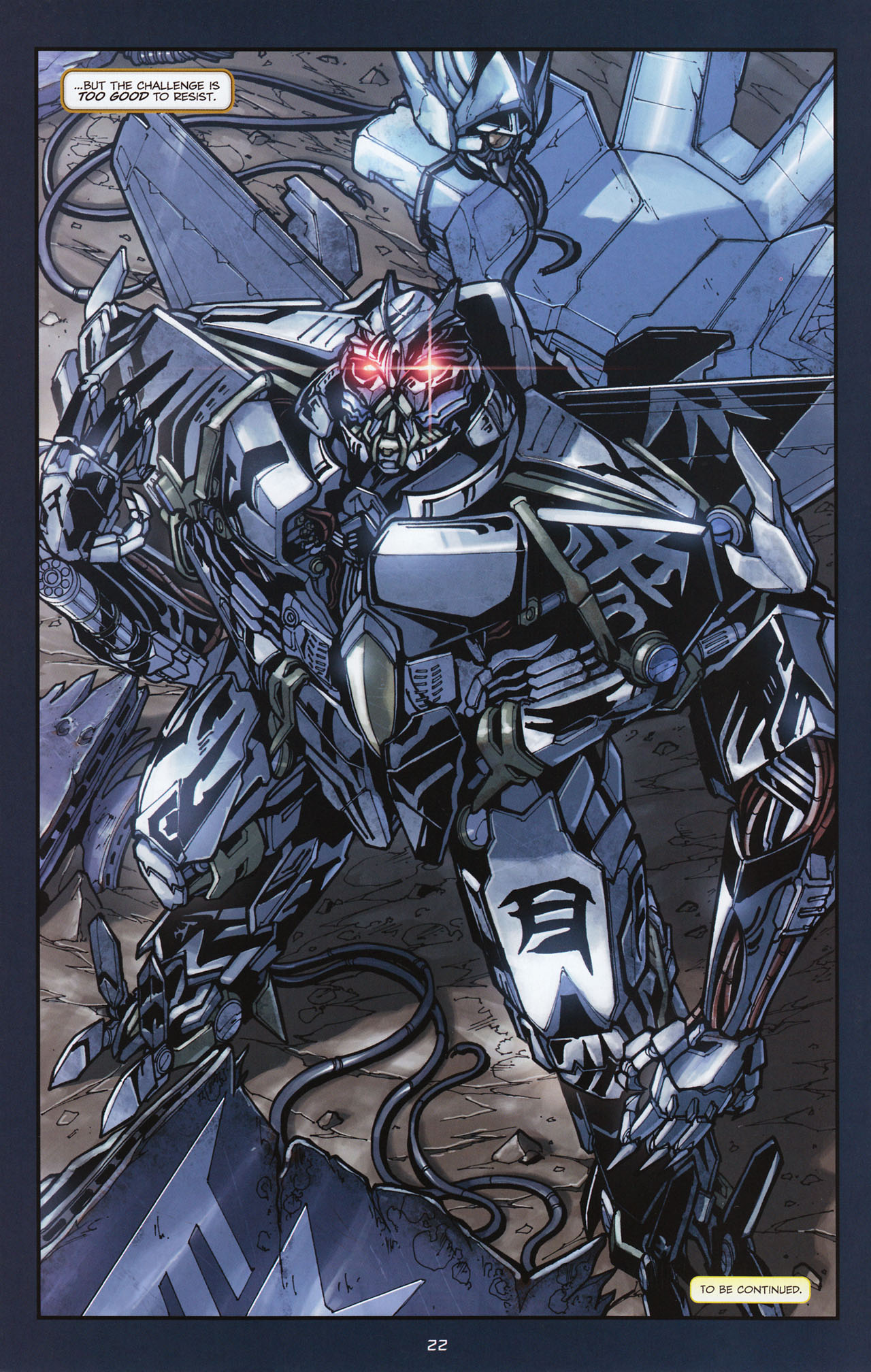 Read online Transformers: Alliance comic -  Issue #1 - 25
