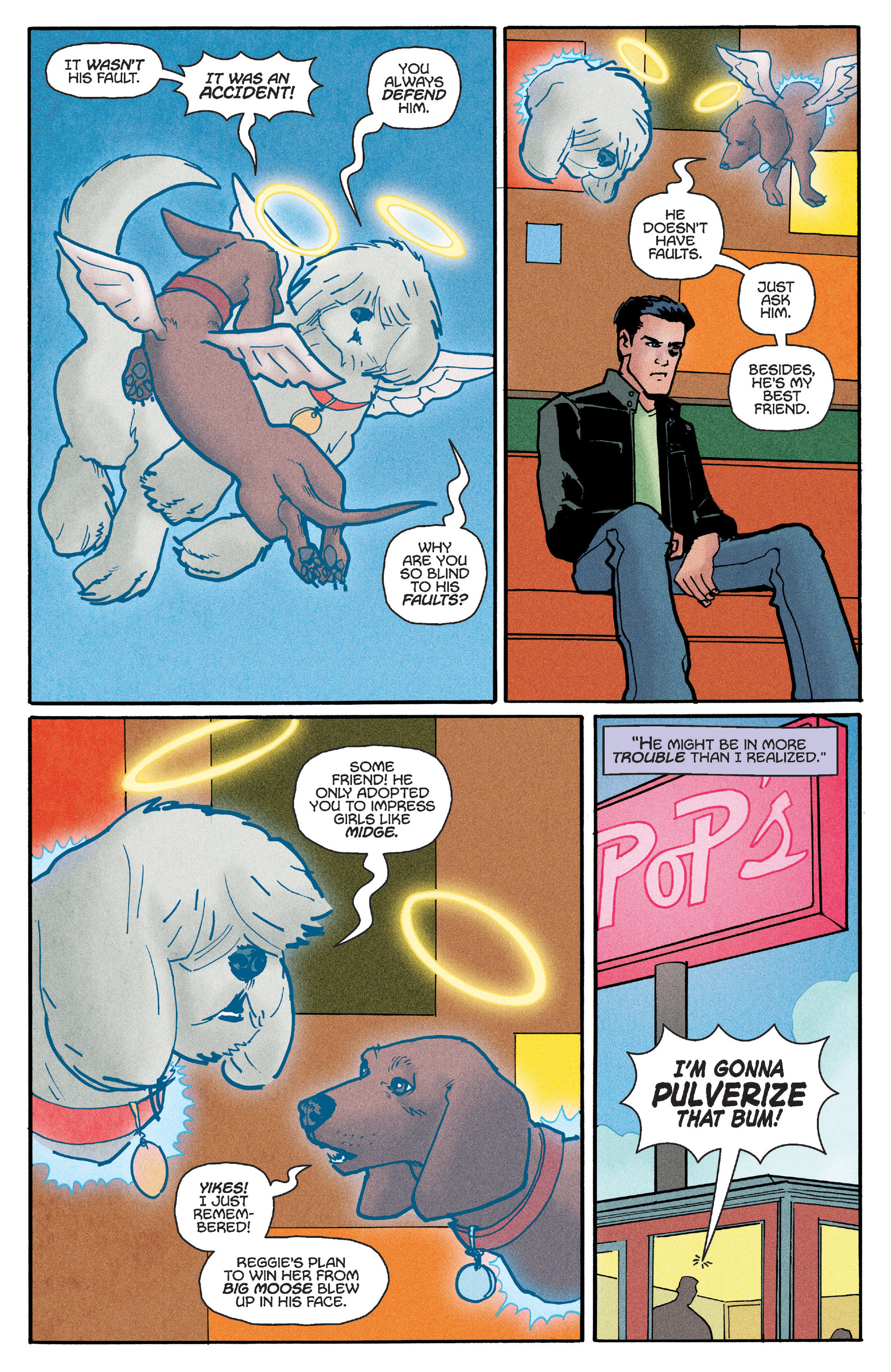 Read online Reggie and Me comic -  Issue #5 - 6