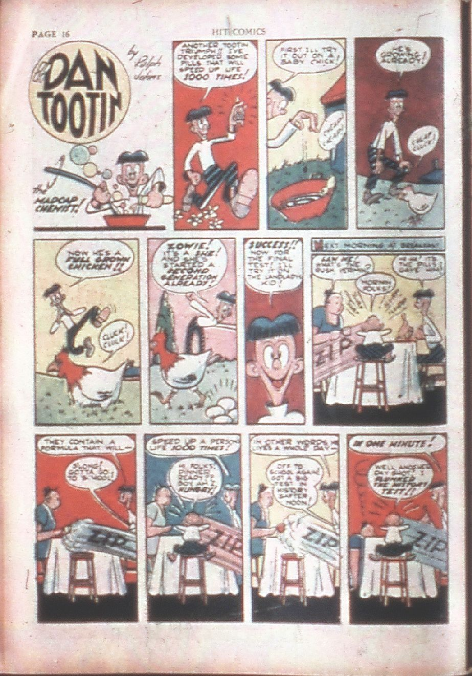 Read online Hit Comics comic -  Issue #15 - 18