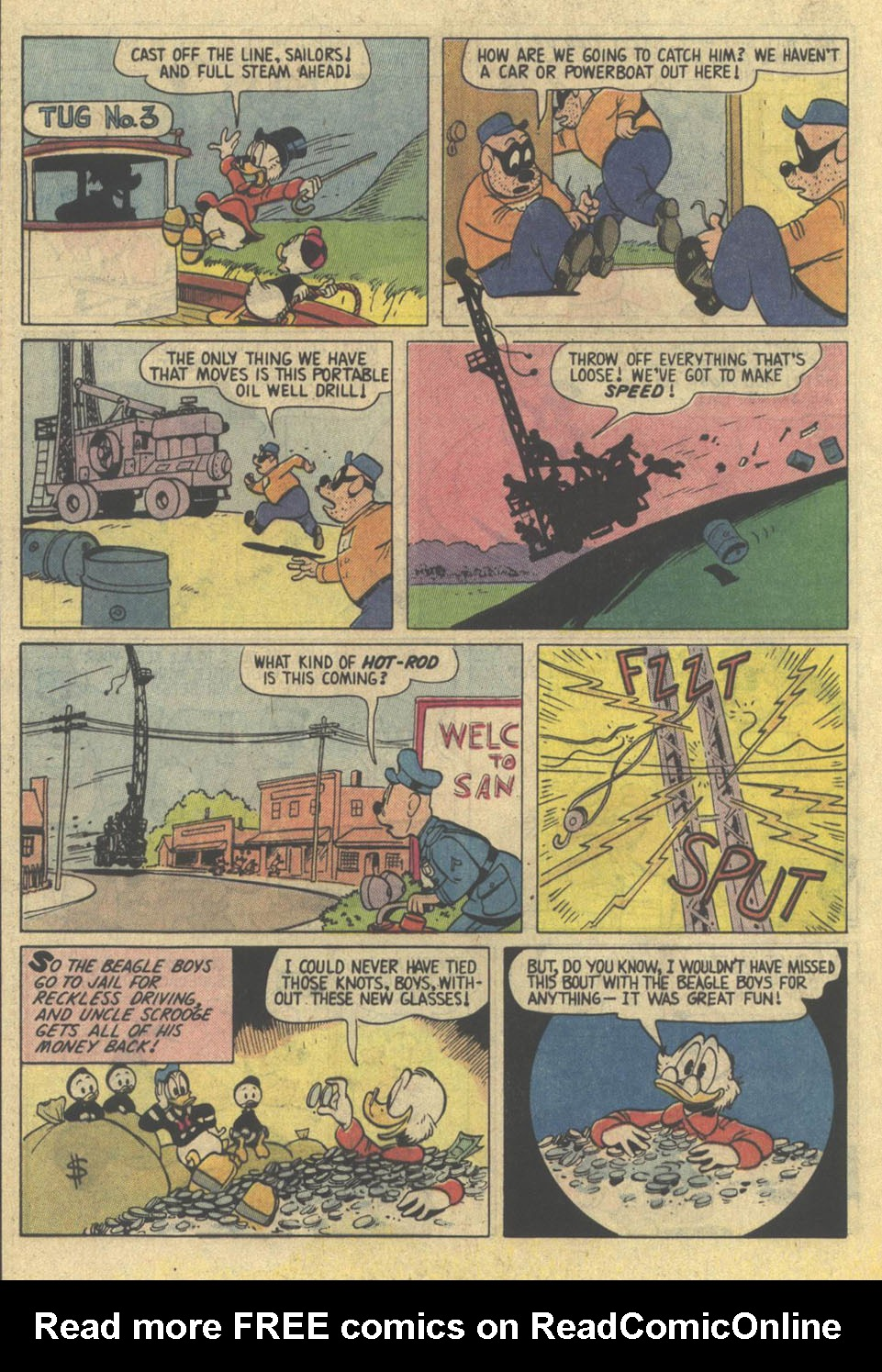 Read online Uncle Scrooge (1953) comic -  Issue #209 - 28